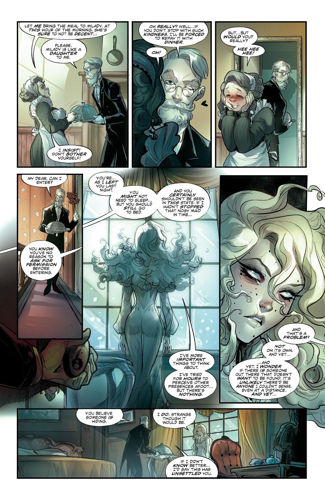 Read online Mirka Andolfo's Mercy comic -  Issue #2 - 7