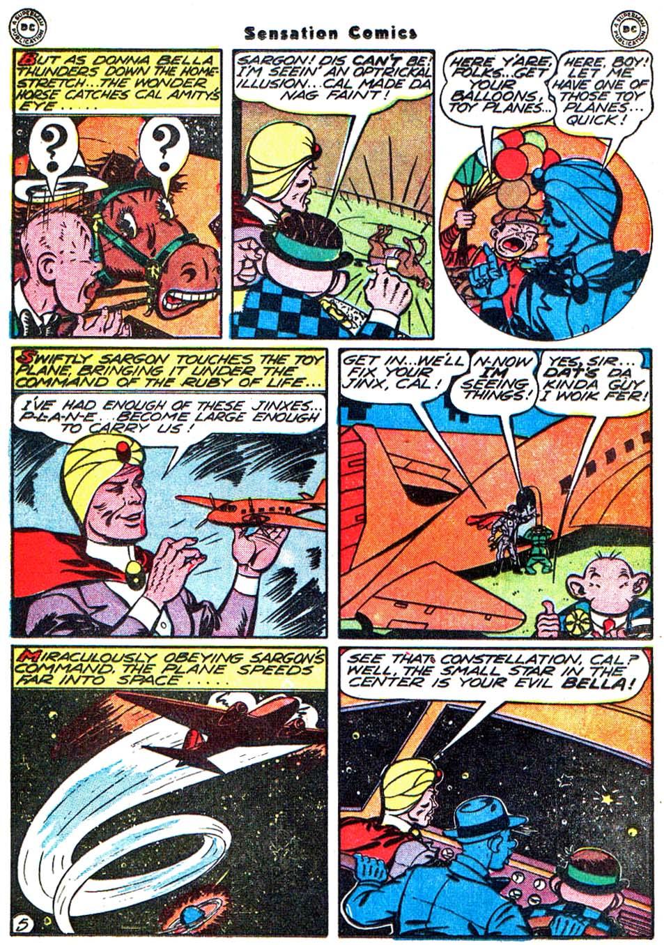 Read online Sensation (Mystery) Comics comic -  Issue #54 - 29