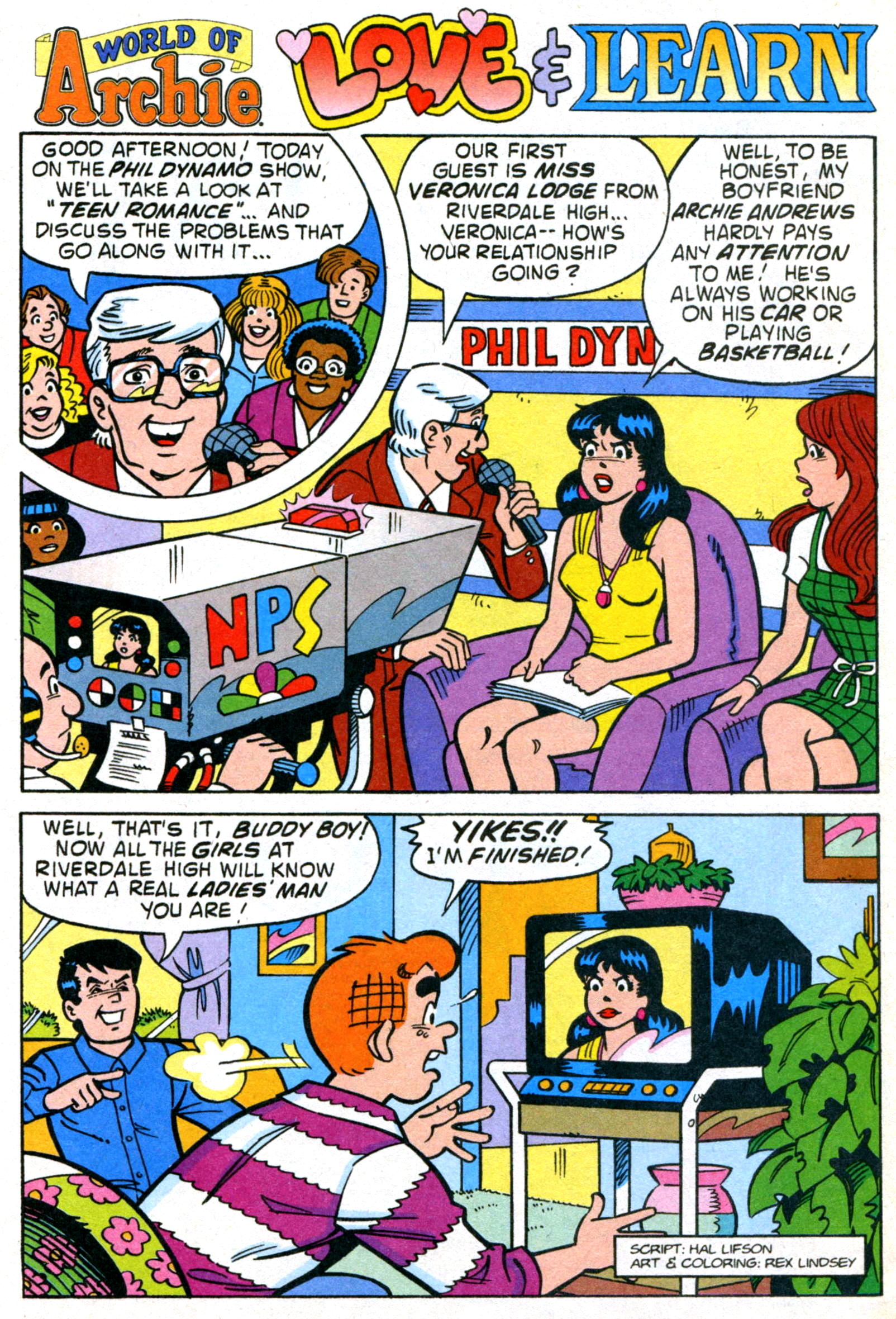 Read online World of Archie comic -  Issue #22 - 28
