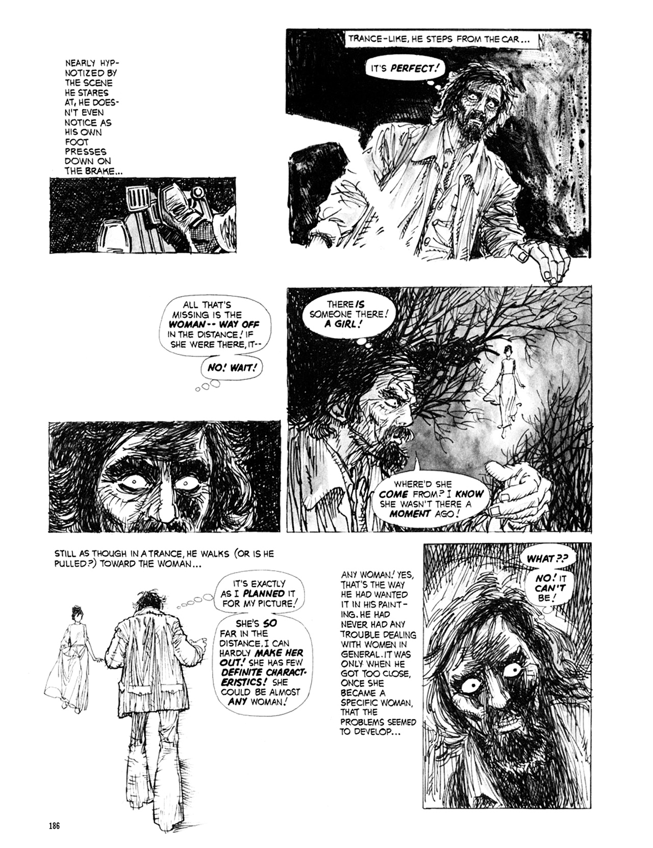 Read online Eerie Archives comic -  Issue # TPB 9 - 187