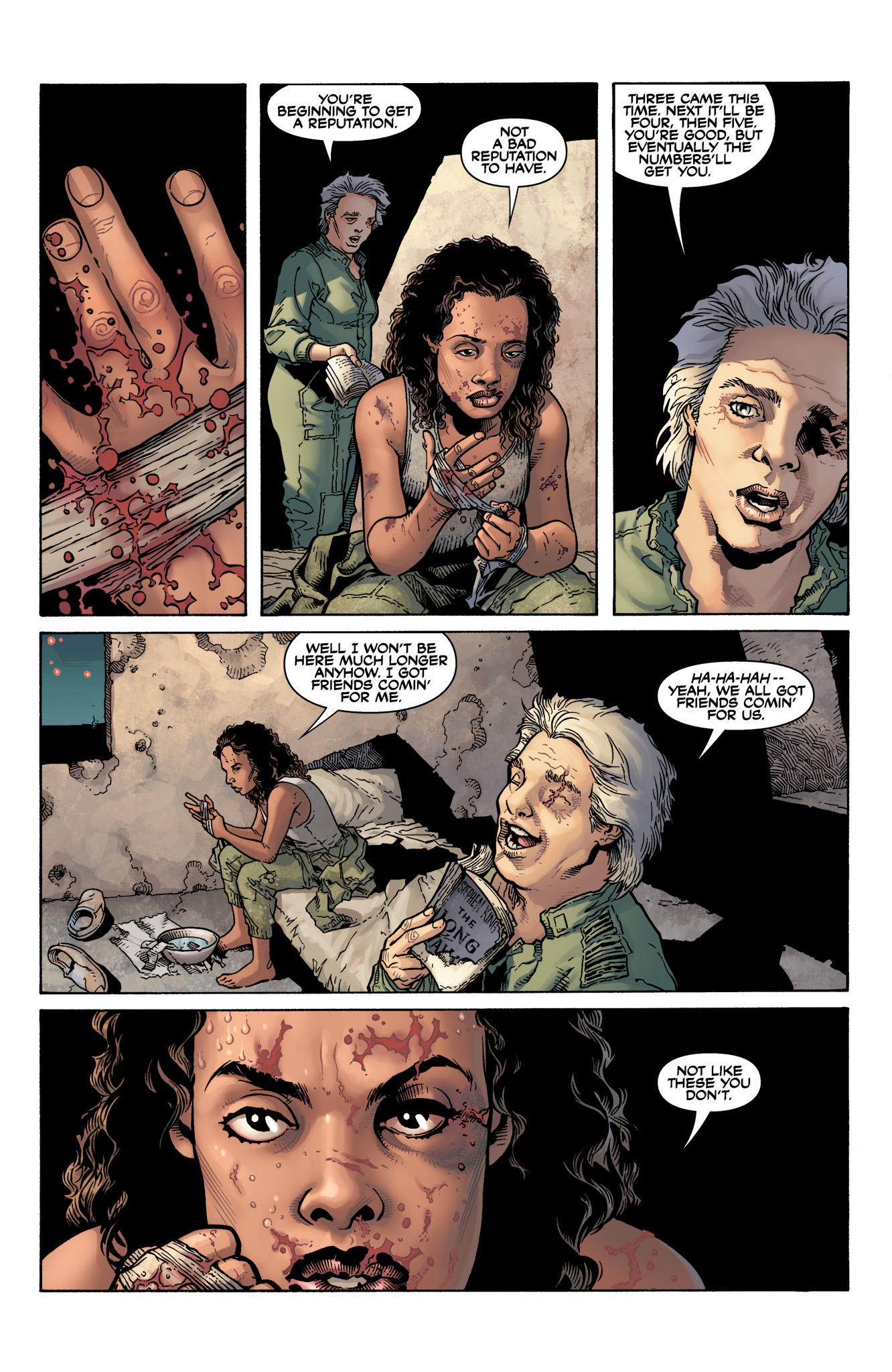 Read online Serenity: Firefly Class 03-K64  Leaves on the Wind comic -  Issue #6 - 3