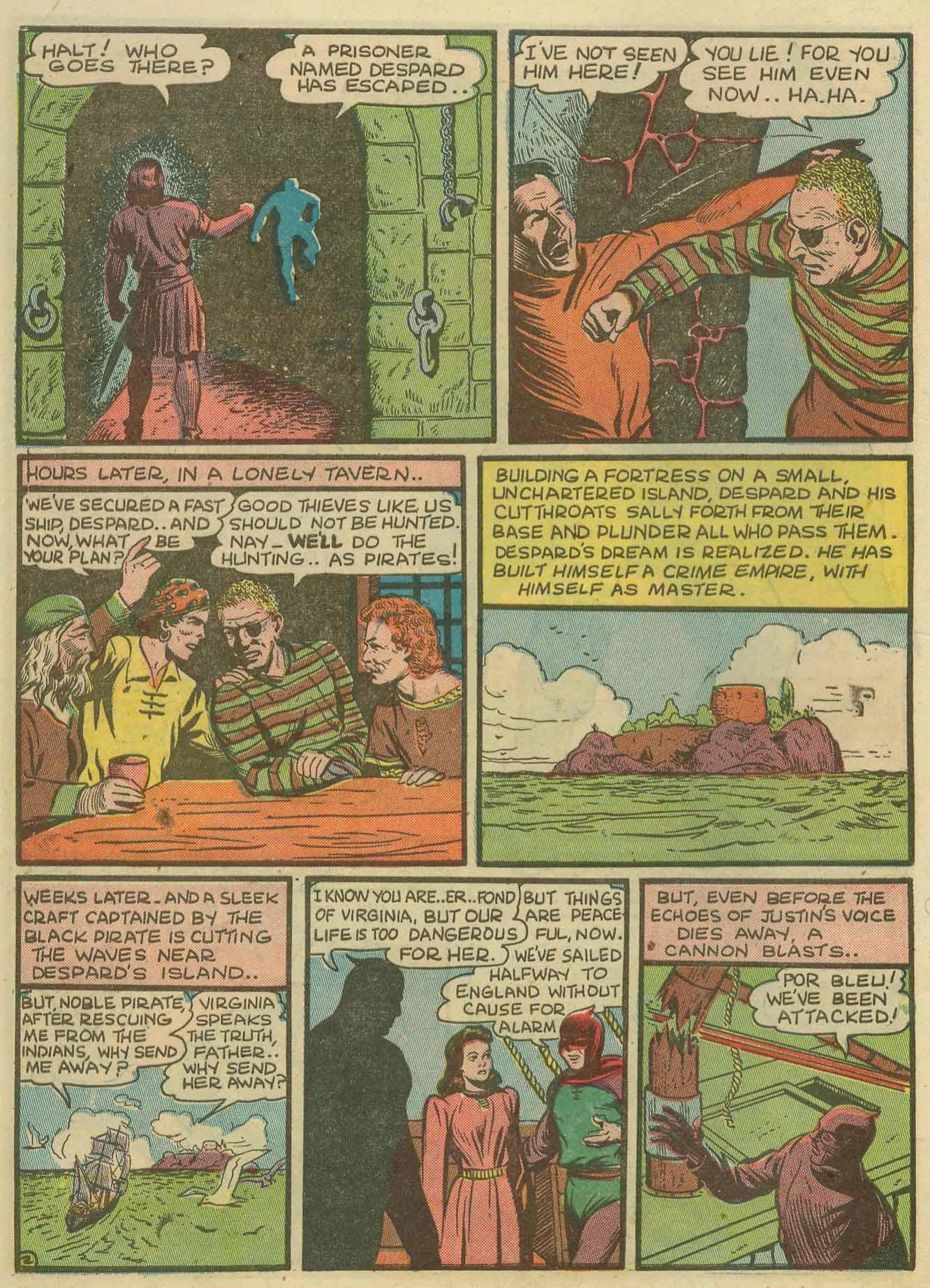 Read online Sensation (Mystery) Comics comic -  Issue #14 - 18