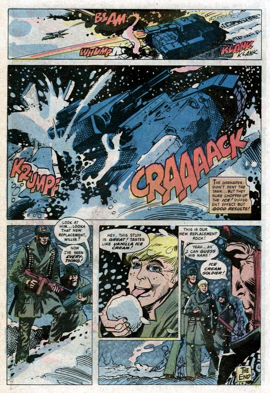Read online Sgt. Rock comic -  Issue #352 - 19