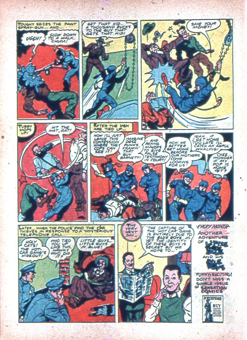 Read online Sensation (Mystery) Comics comic -  Issue #2 - 54