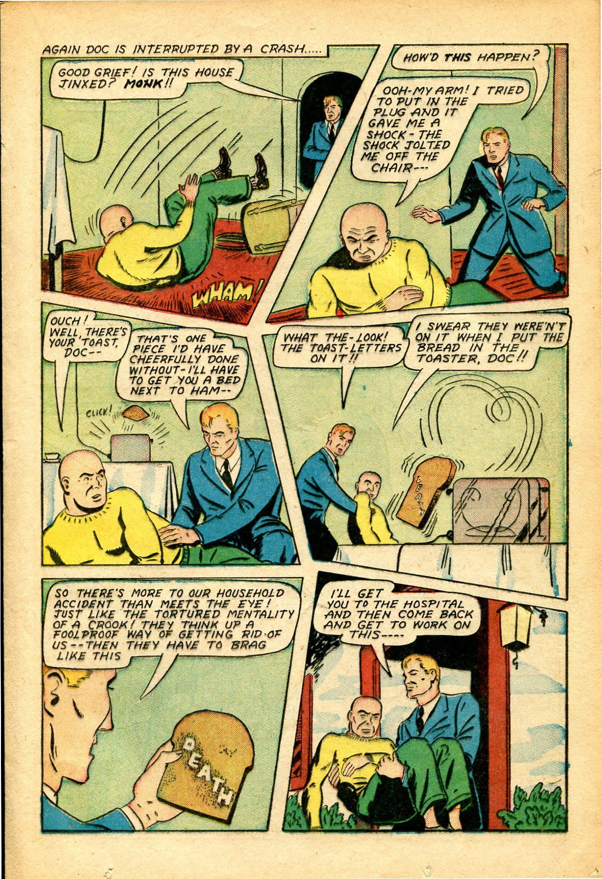 Read online Shadow Comics comic -  Issue #51 - 22