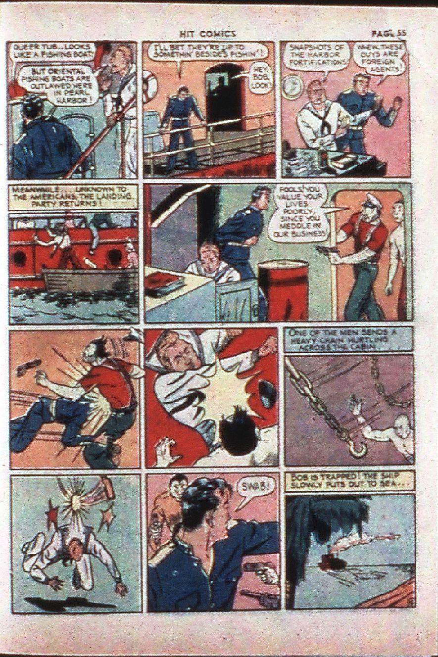 Read online Hit Comics comic -  Issue #4 - 55