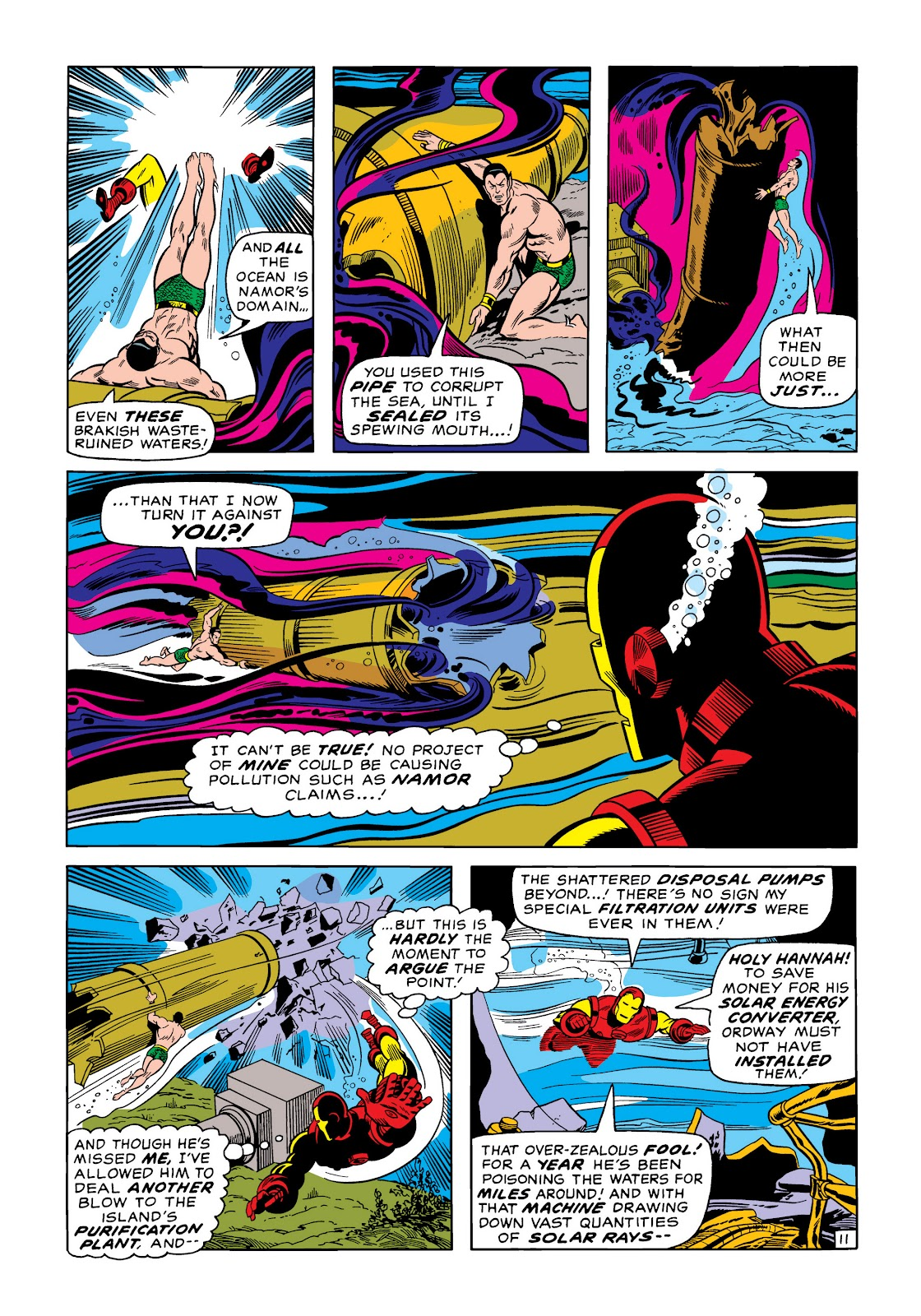 Read online Marvel Masterworks: The Invincible Iron Man comic -  Issue # TPB 6 (Part 3) - 27