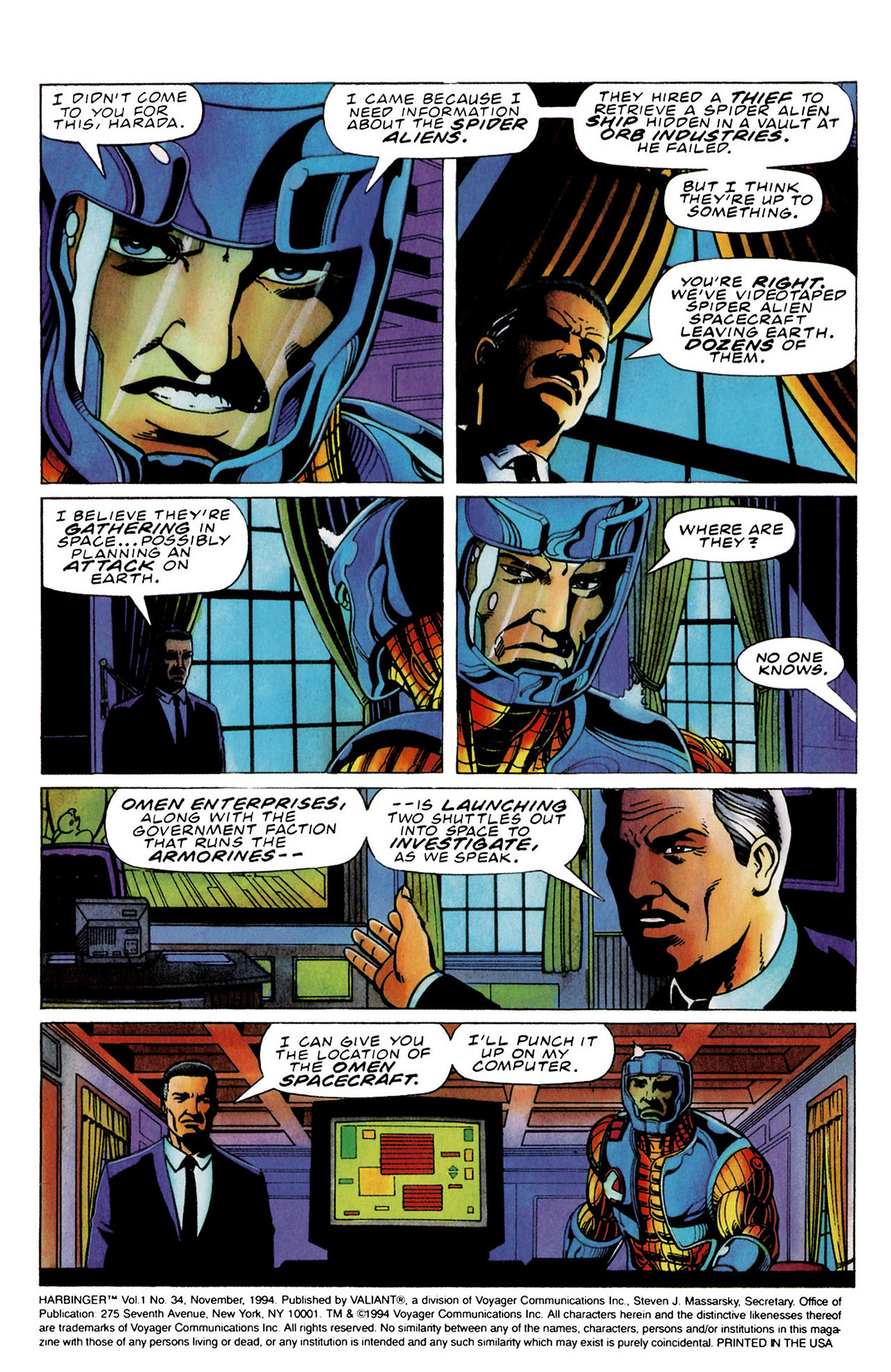 Read online Harbinger (1992) comic -  Issue #34 - 3
