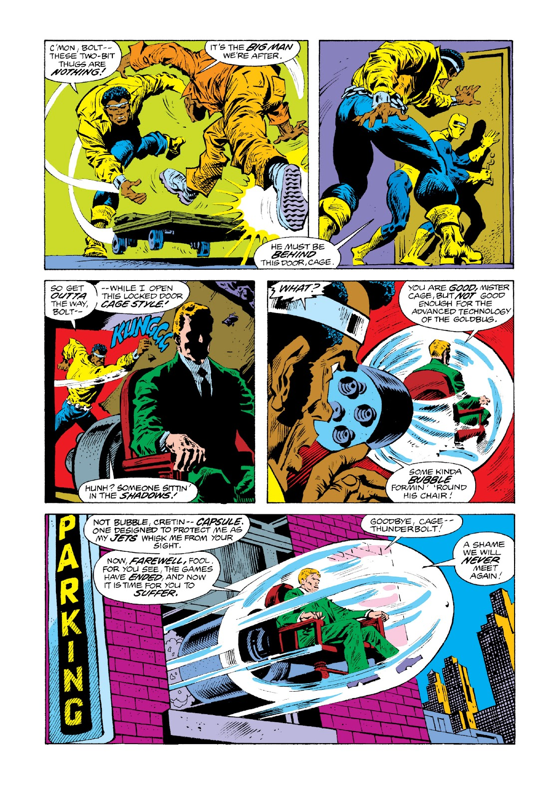Read online Marvel Masterworks: Luke Cage, Power Man comic -  Issue # TPB 3 (Part 3) - 20