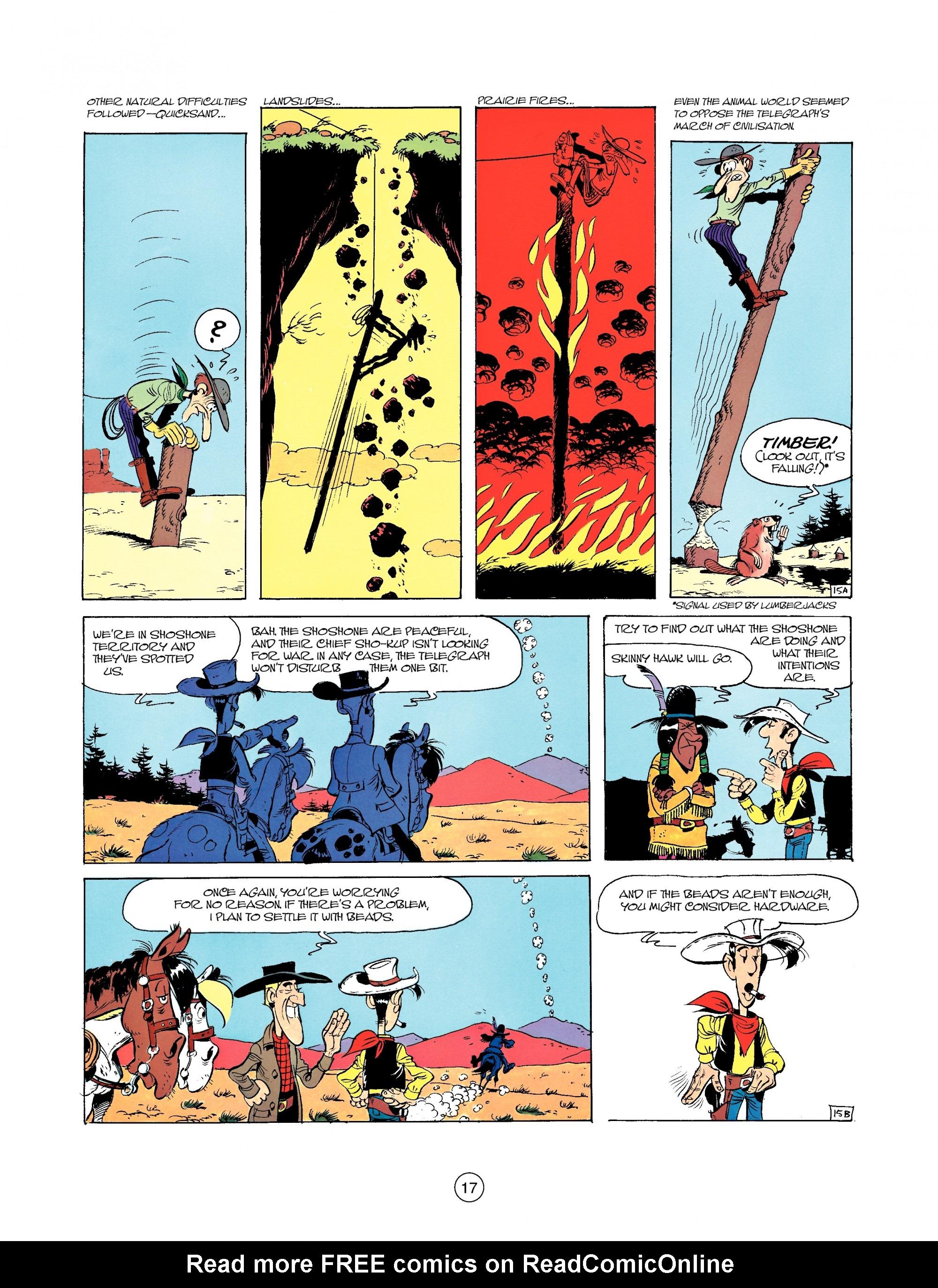 Read online A Lucky Luke Adventure comic -  Issue #35 - 17