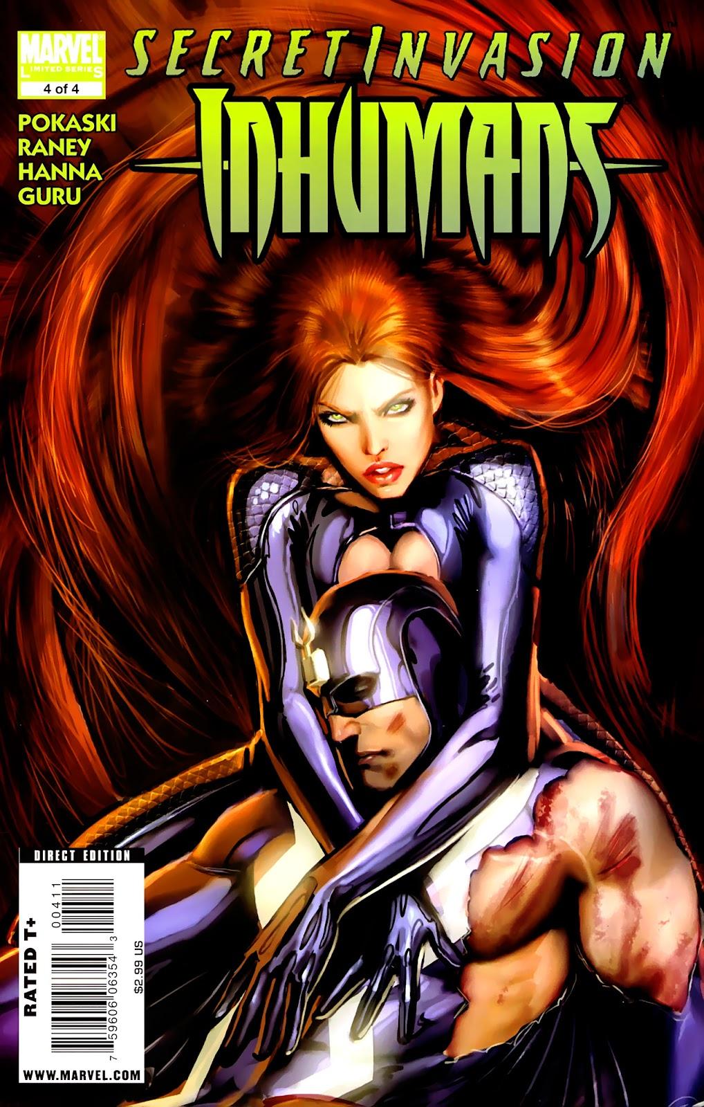 Secret Invasion: Inhumans issue 4 - Page 1
