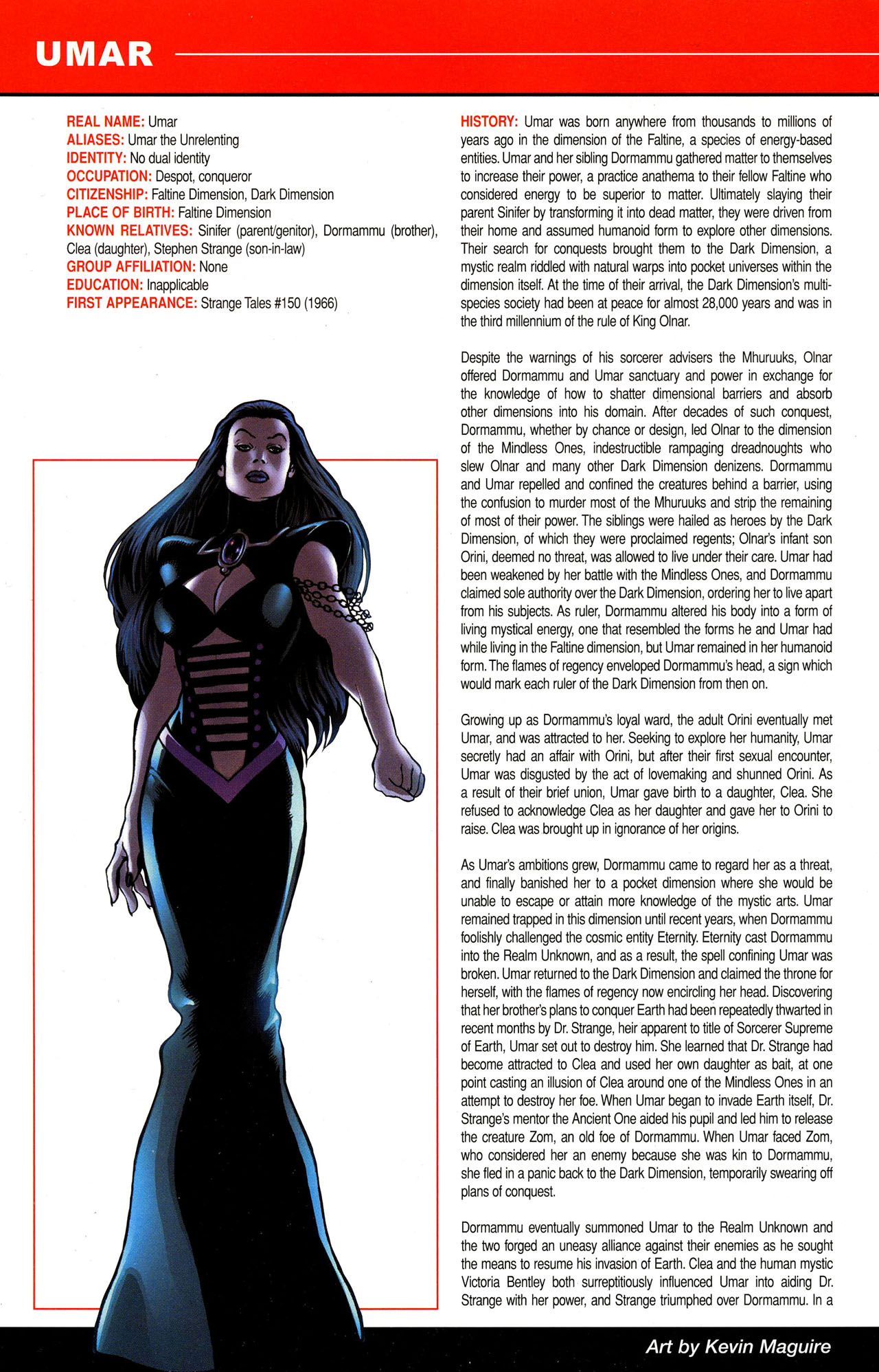 Read online All-New Official Handbook of the Marvel Universe A to Z comic -  Issue #12 - 4