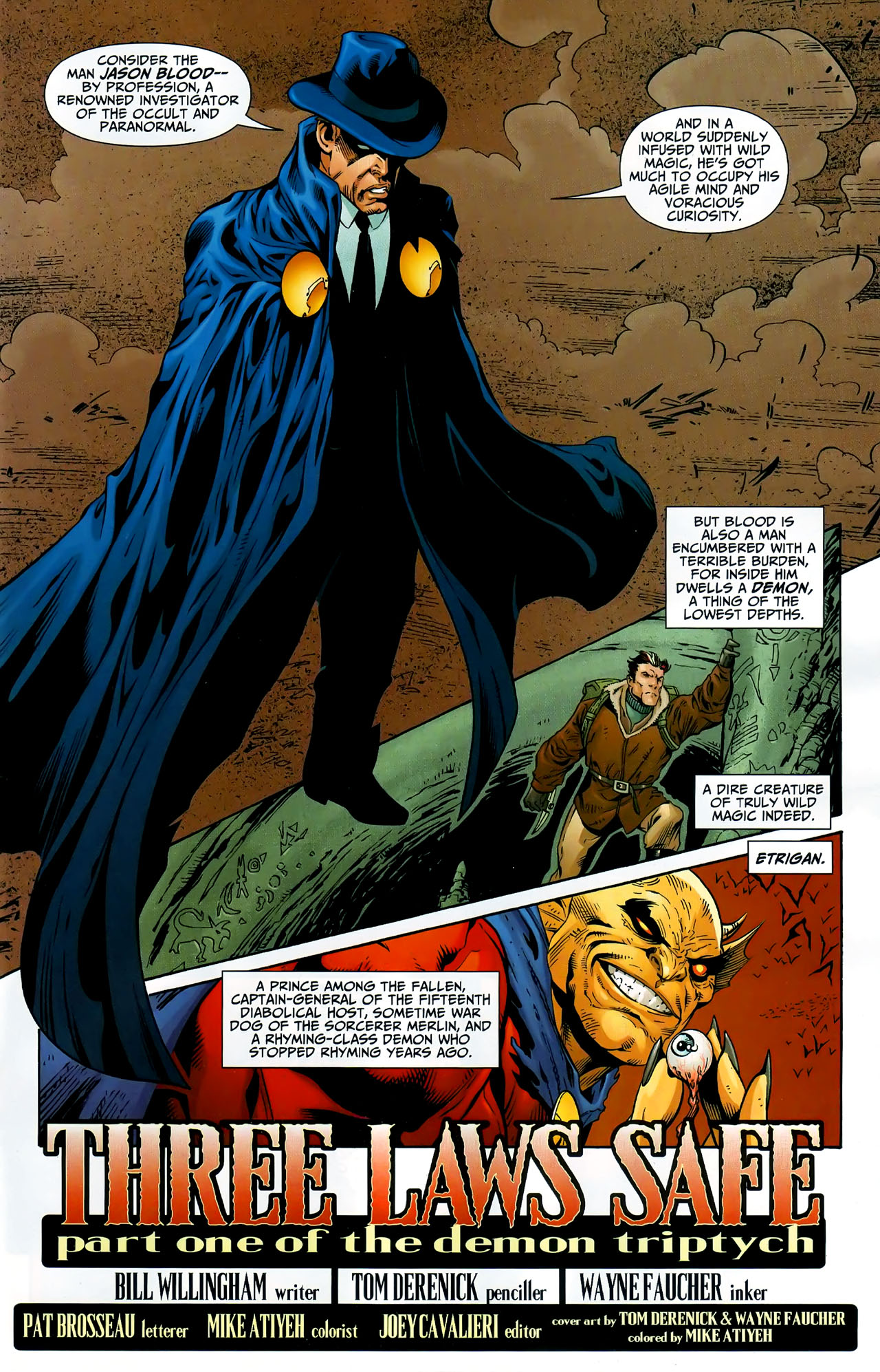 Read online Shadowpact comic -  Issue #9 - 2