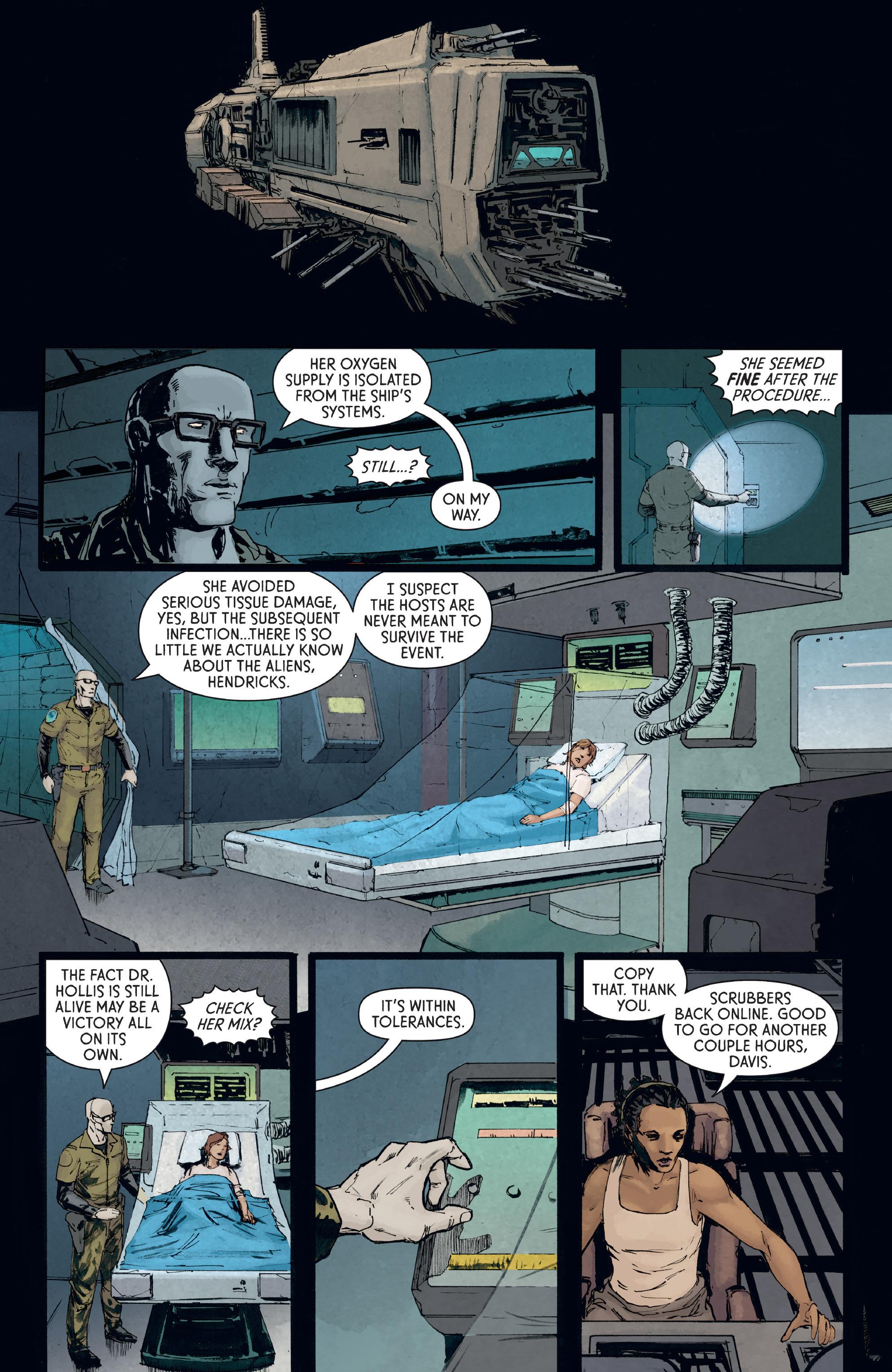 Read online Aliens: Defiance comic -  Issue #8 - 6