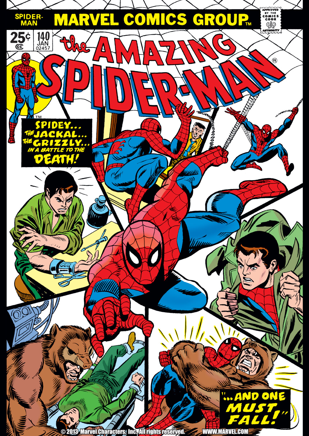 The Amazing Spider-Man (1963) 140 Page 1