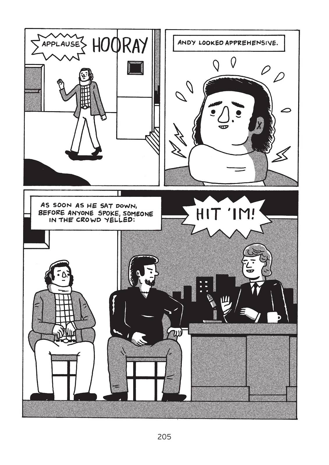 Read online Is This Guy For Real?: The Unbelievable Andy Kaufman comic -  Issue # TPB (Part 3) - 10