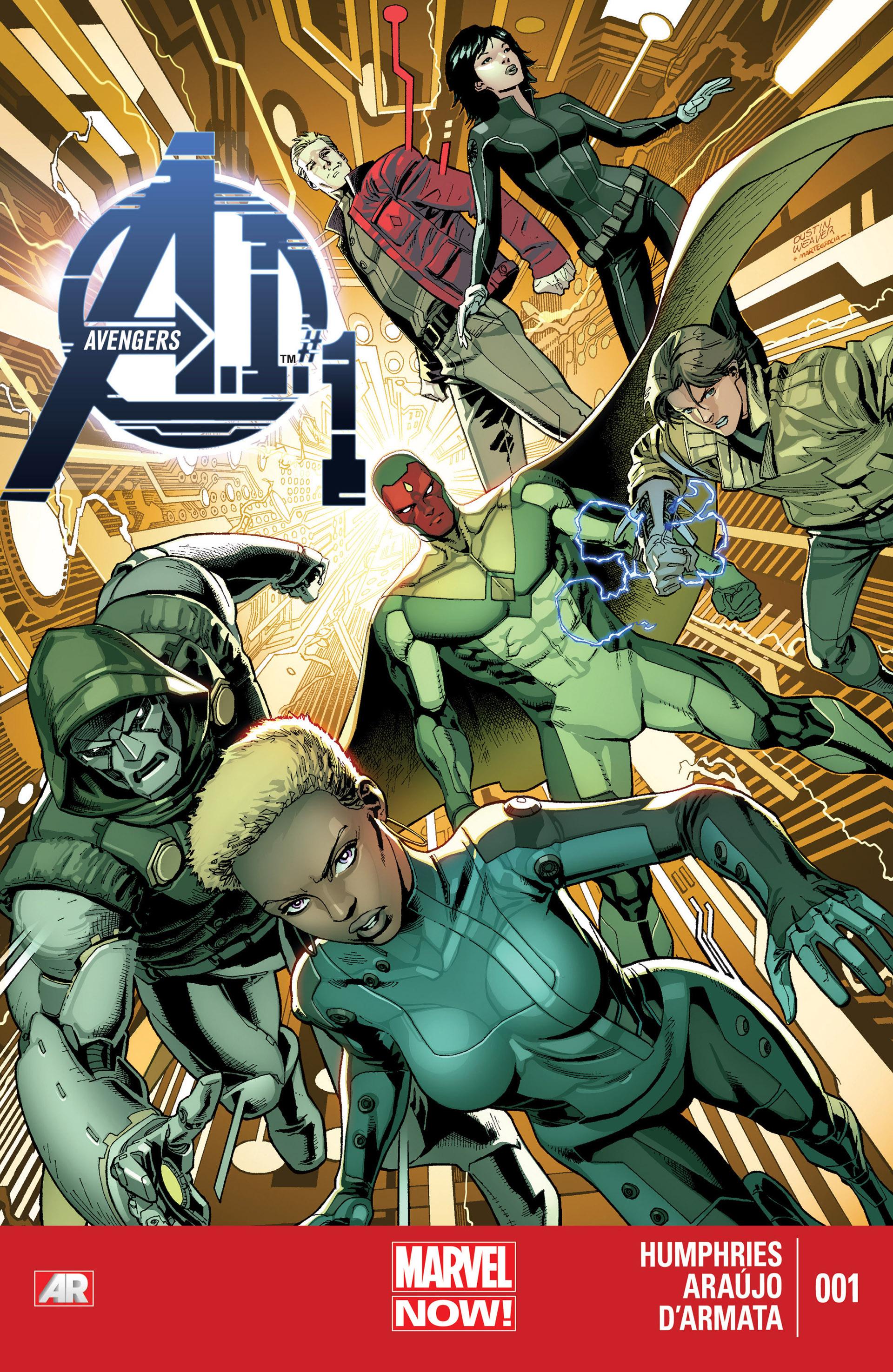 Avengers A.I. 1 Page 1