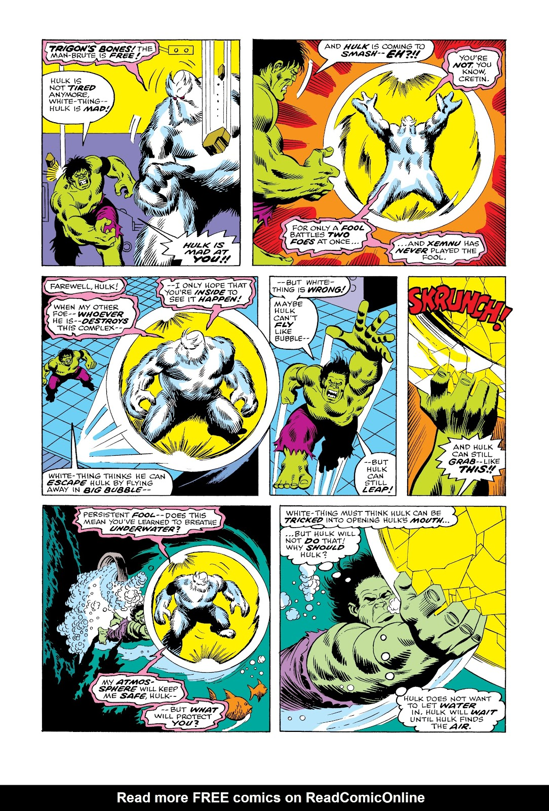 Read online Marvel Masterworks: The Incredible Hulk comic -  Issue # TPB 12 (Part 1) - 78