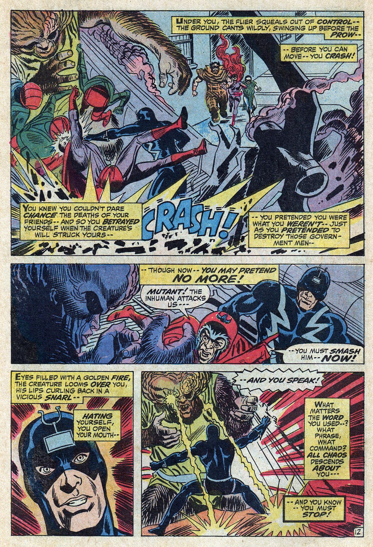 Read online Amazing Adventures (1970) comic -  Issue #10 - 18