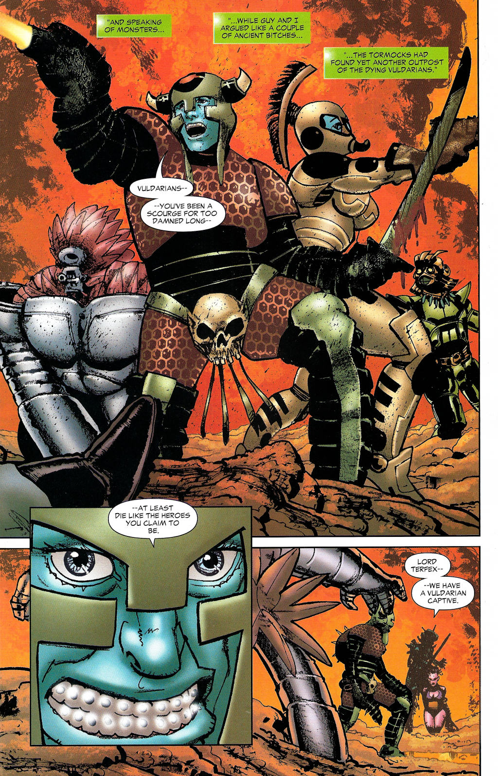 Read online Guy Gardner: Collateral Damage comic -  Issue #1 - 29