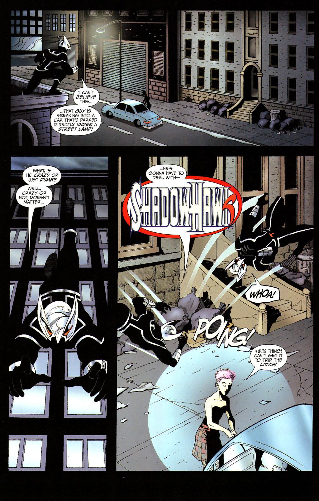Read online ShadowHawk (2005) comic -  Issue #14 - 5