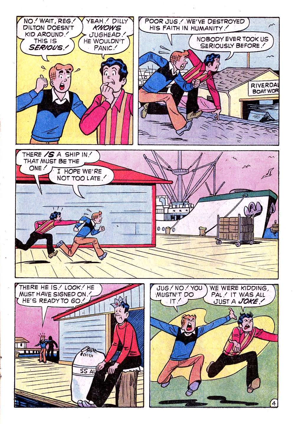 Read online Archie (1960) comic -  Issue #235 - 17