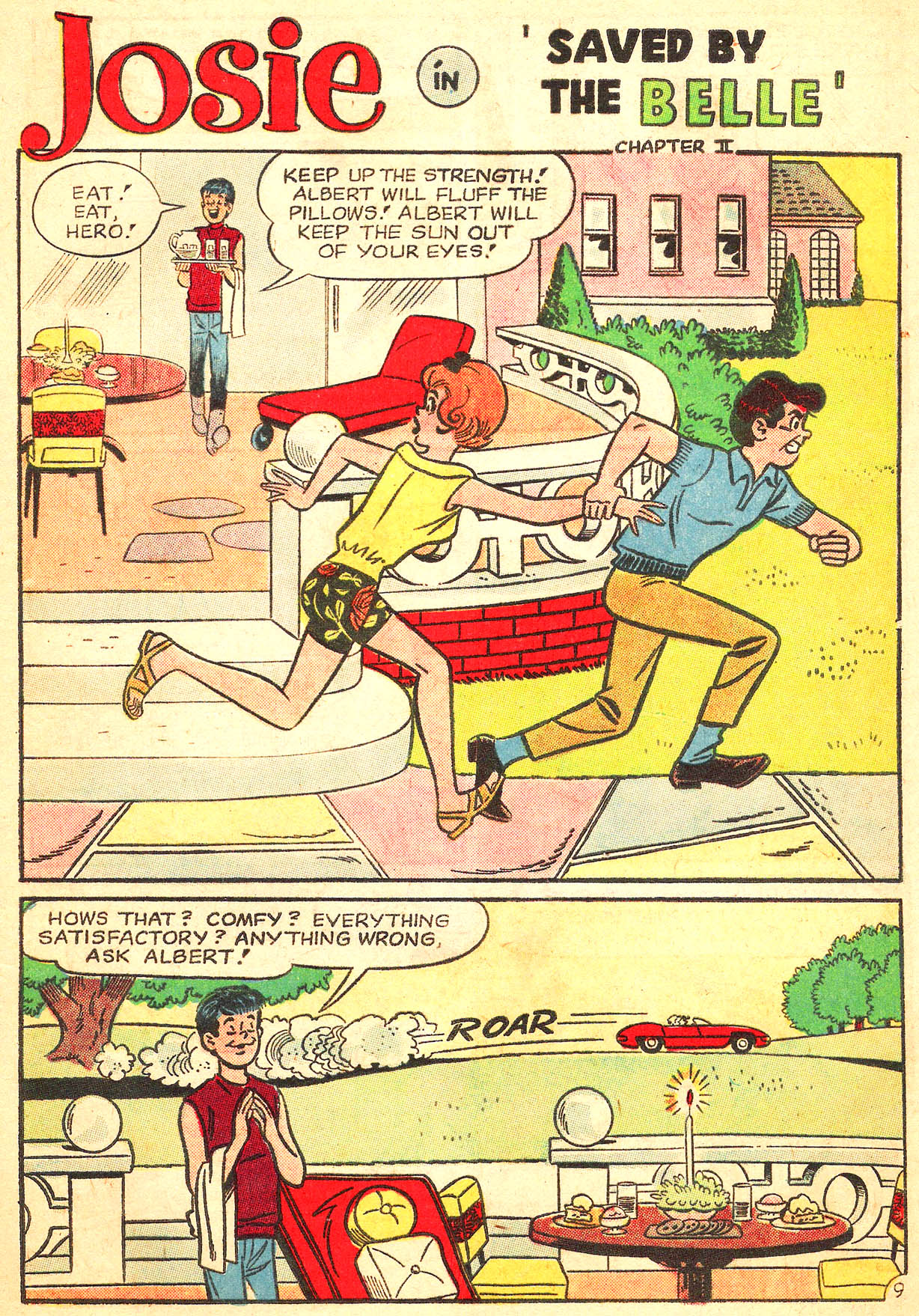 Read online She's Josie comic -  Issue #8 - 13