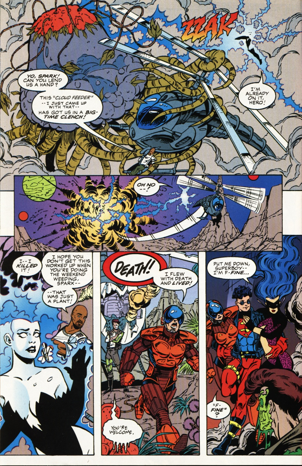 Read online Superboy & The Ravers comic -  Issue #4 - 11