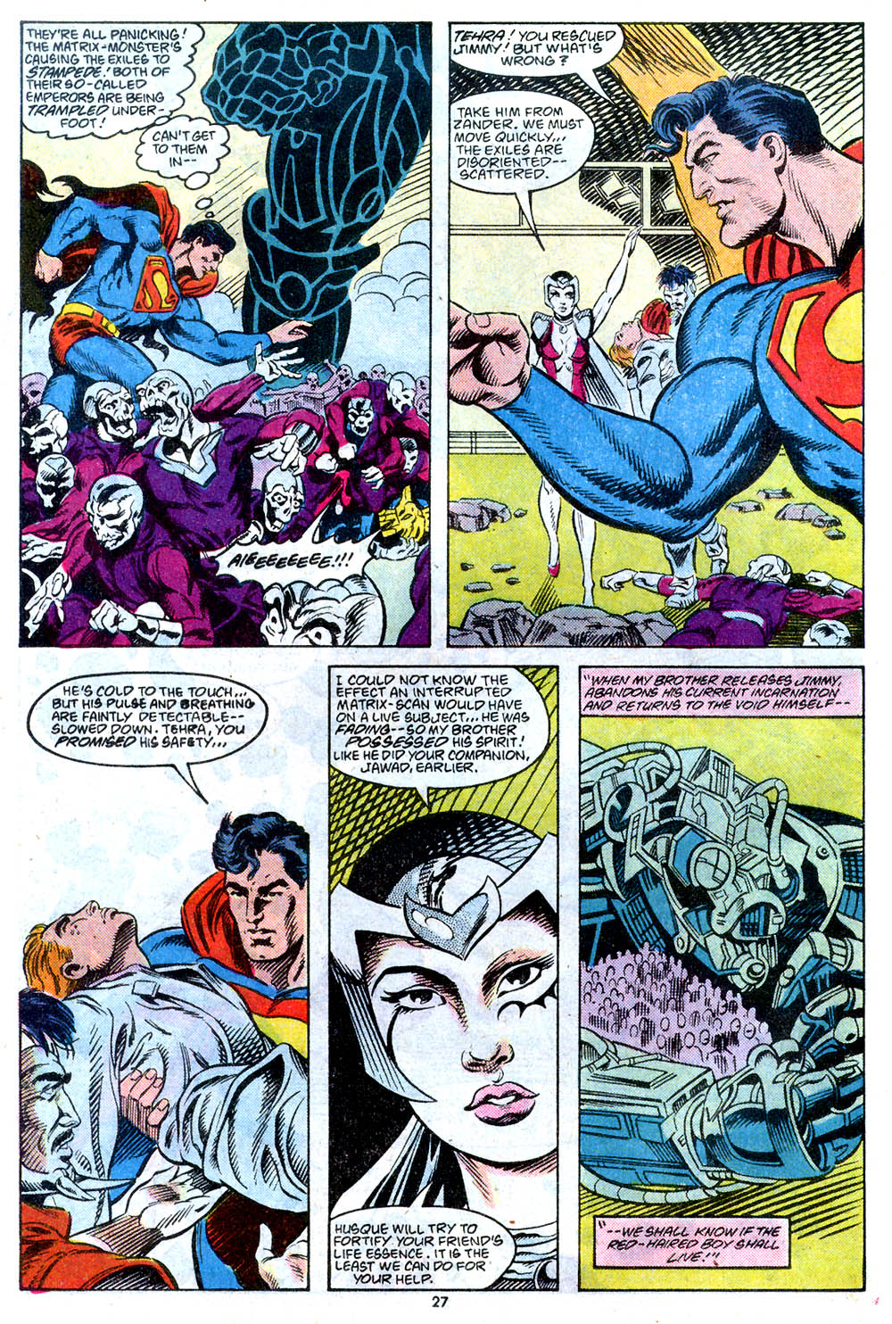 Read online Adventures of Superman (1987) comic -  Issue #443 - 29