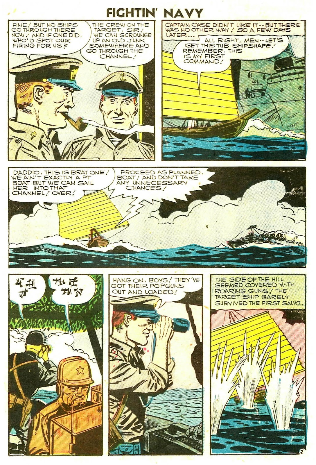 Read online Fightin' Navy comic -  Issue #78 - 19