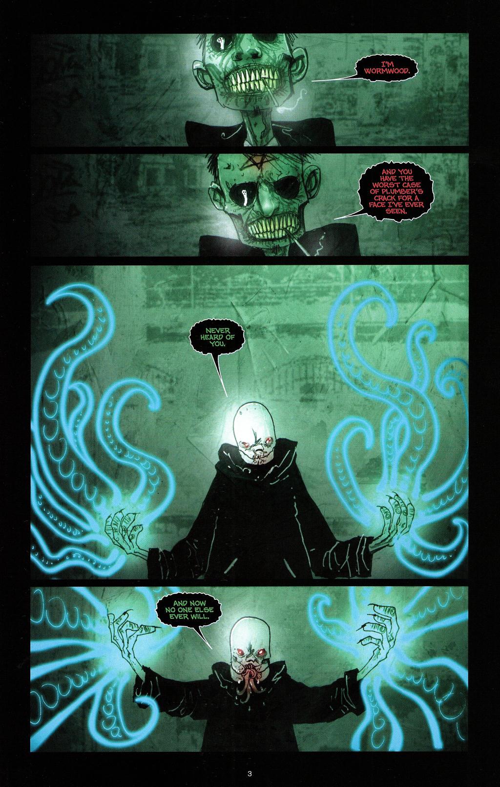 Read online Wormwood: Gentleman Corpse comic -  Issue #4 - 6