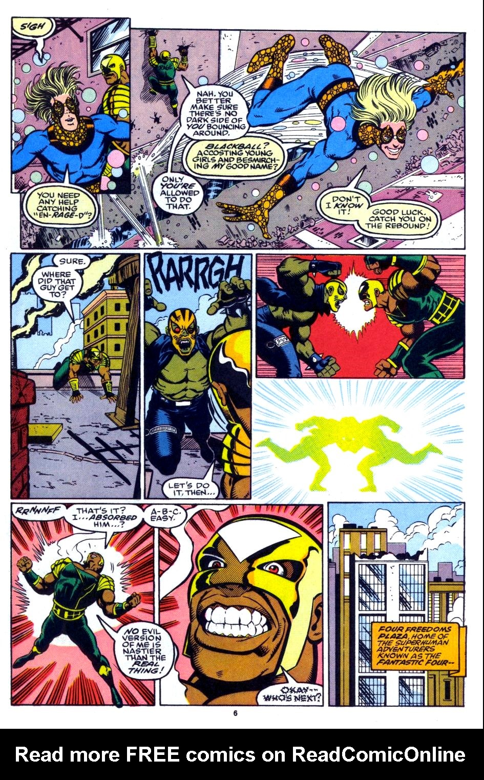 The New Warriors Issue #27 #31 - English 6