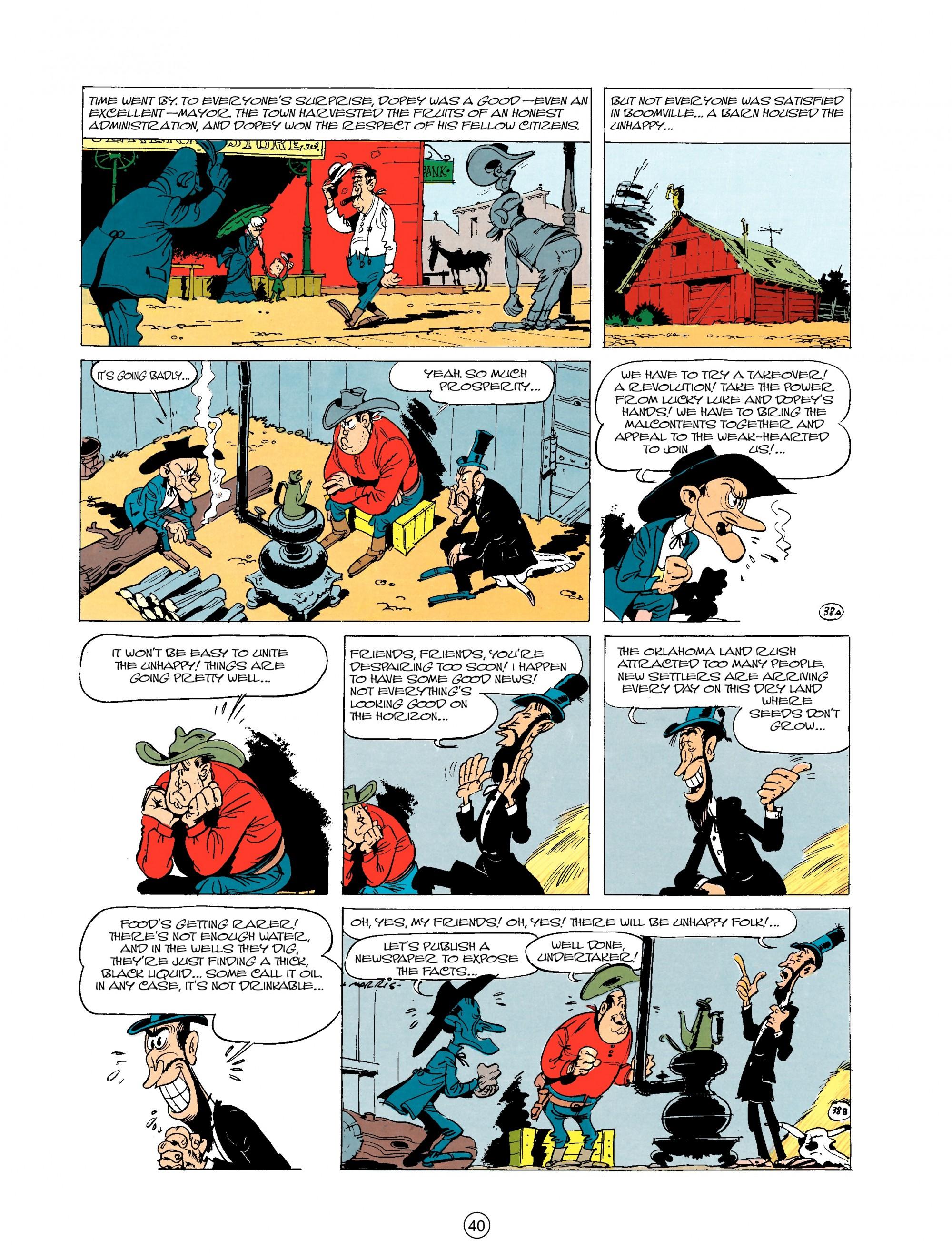 Read online A Lucky Luke Adventure comic -  Issue #20 - 40