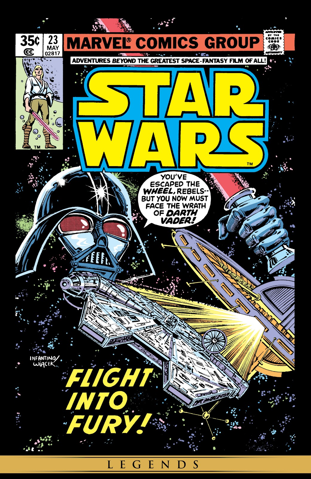 Read online Star Wars Legends: The Original Marvel Years - Epic Collection comic -  Issue # TPB 1 (Part 5) - 3