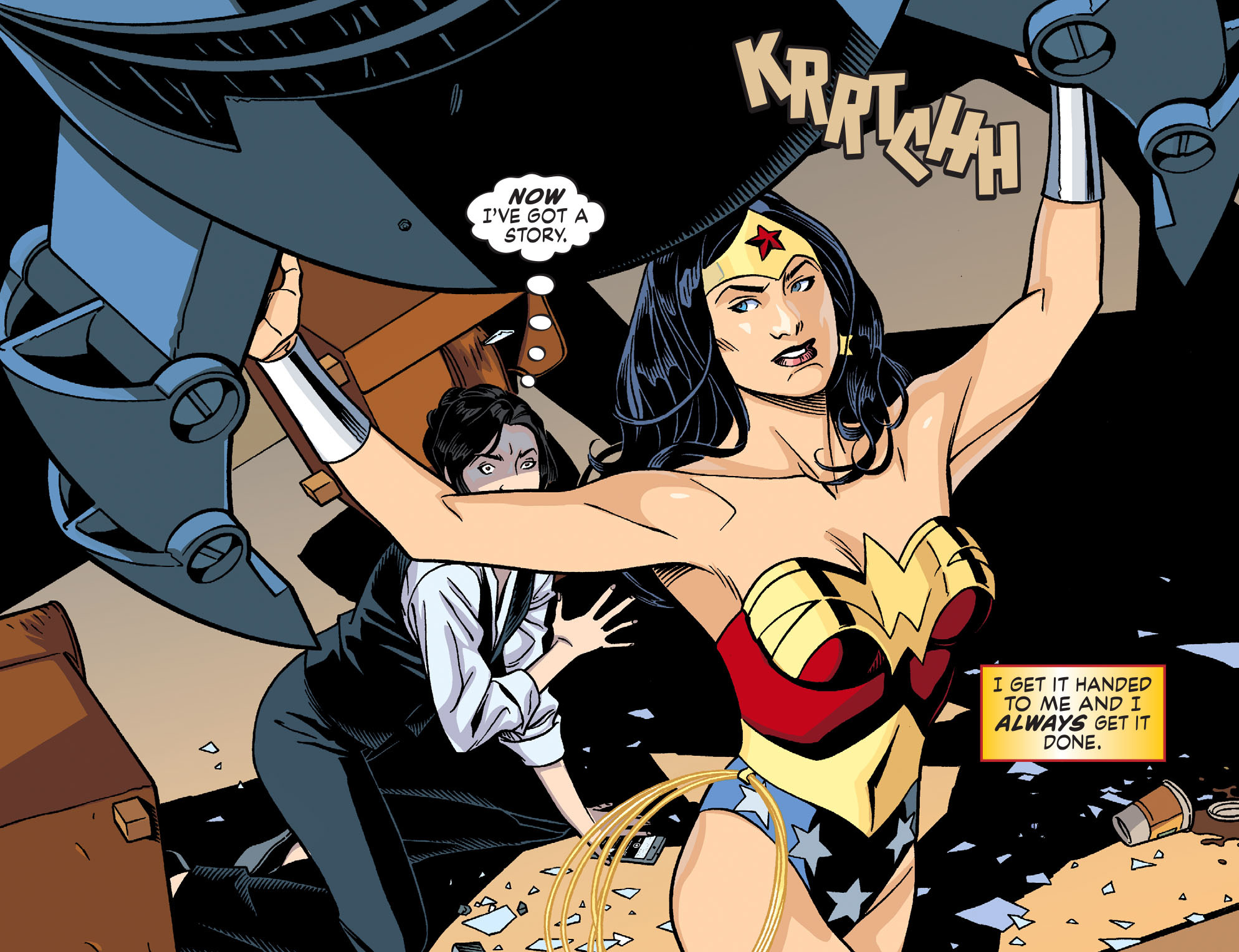 Read online Sensation Comics Featuring Wonder Woman comic -  Issue #26 - 10