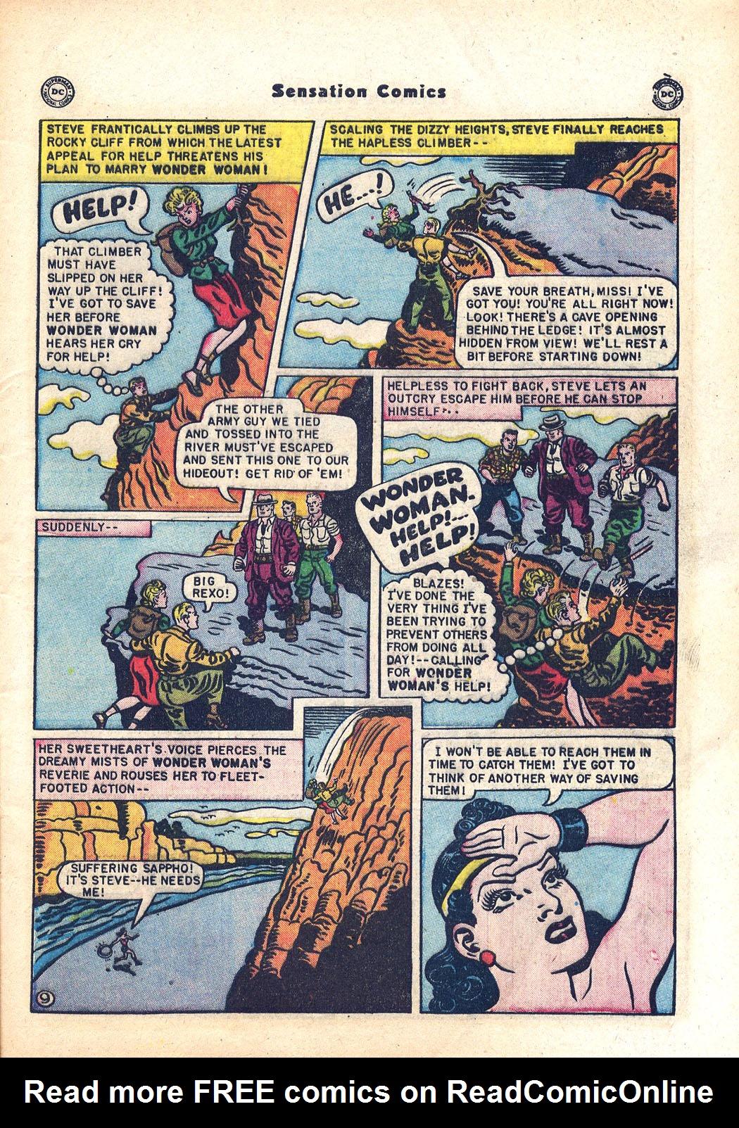 Read online Sensation (Mystery) Comics comic -  Issue #94 - 11