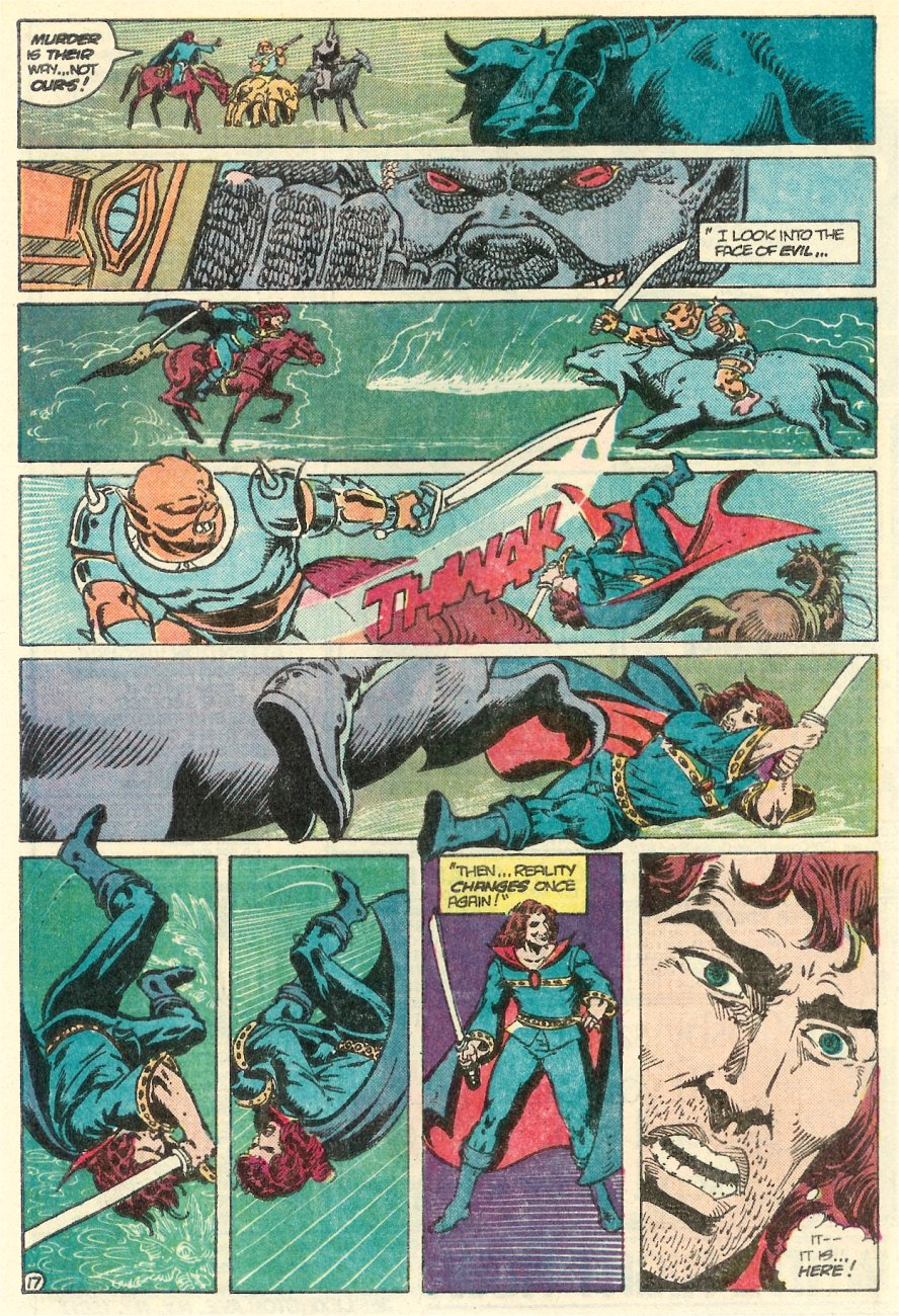 Read online Arion, Lord of Atlantis comic -  Issue #25 - 18