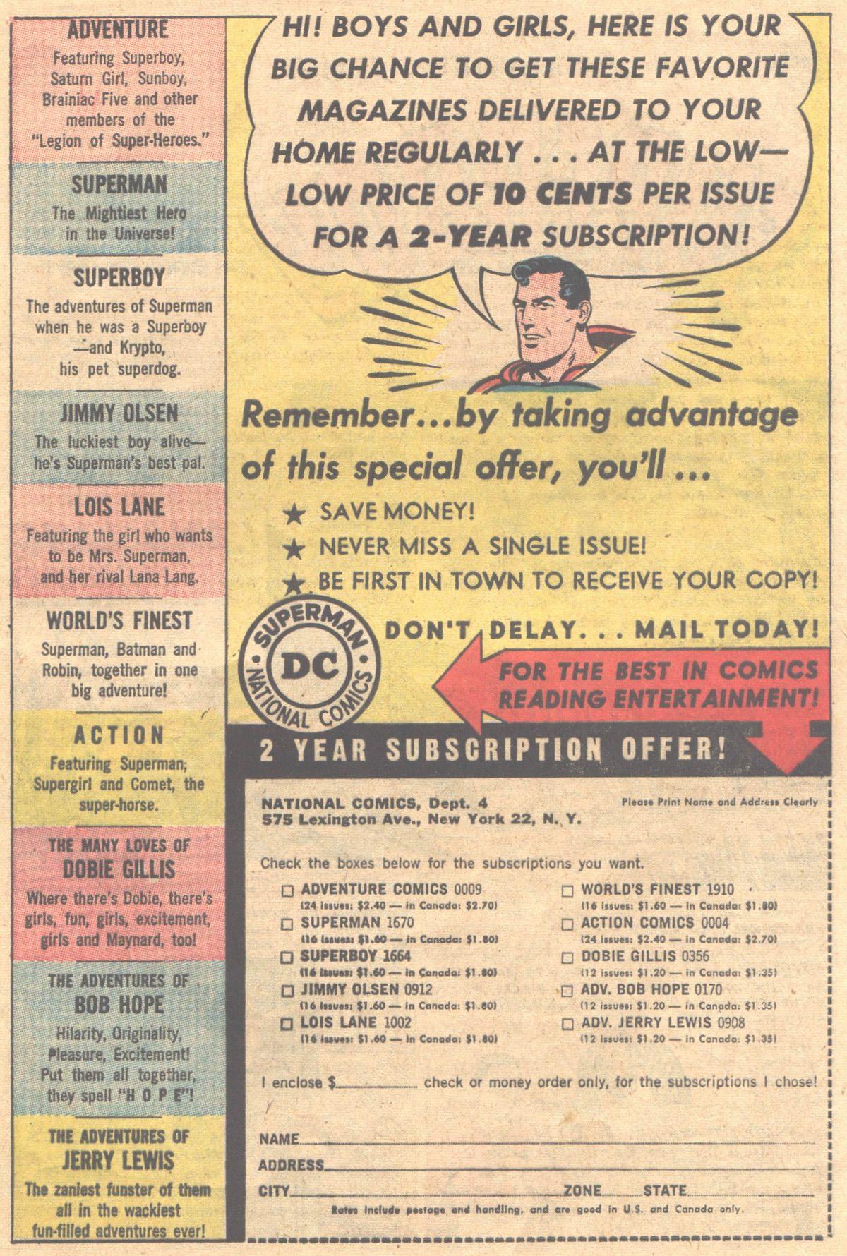 Read online Adventure Comics (1938) comic -  Issue #312 - 21