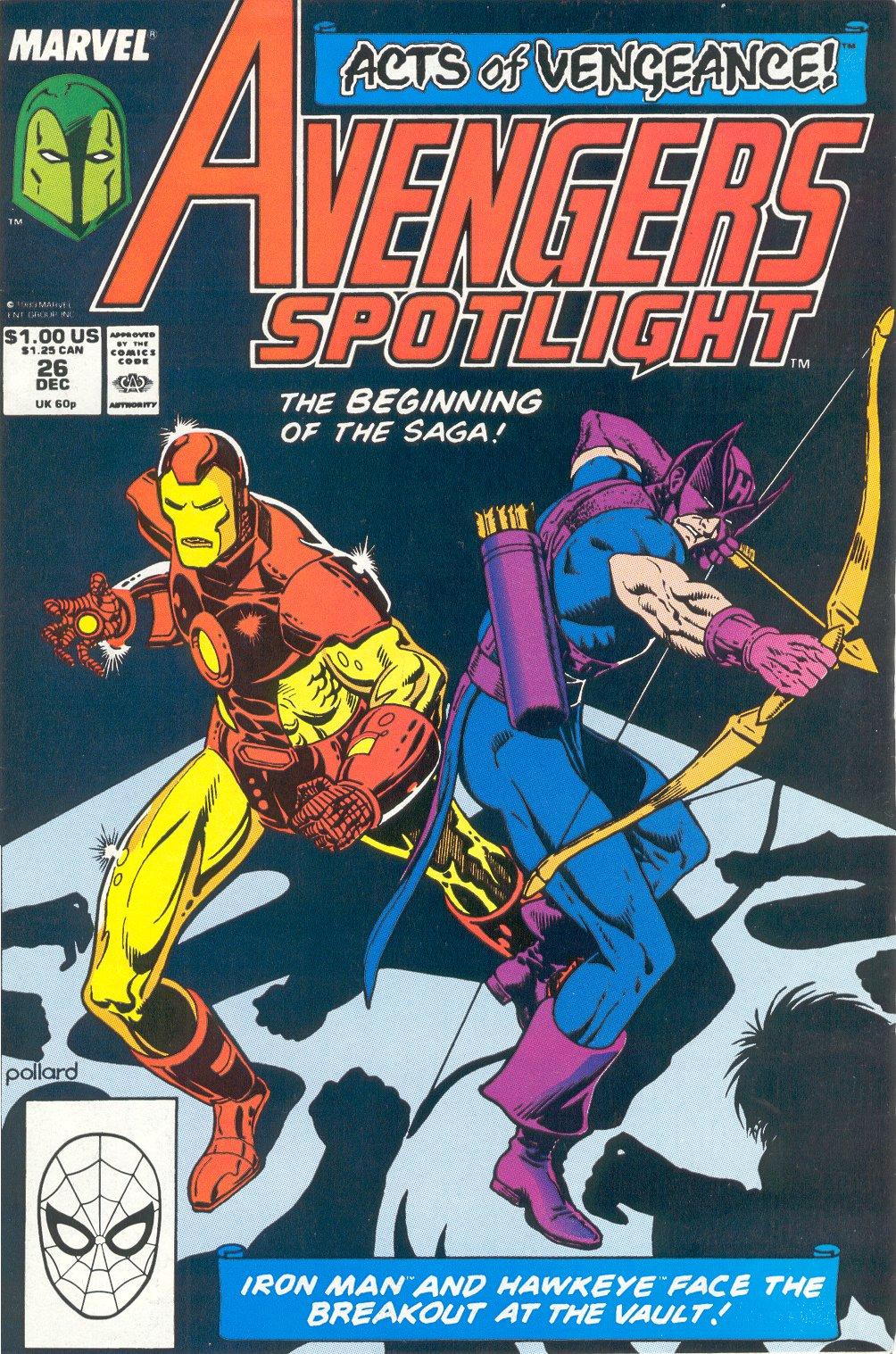 Avengers Spotlight 26 Page 1