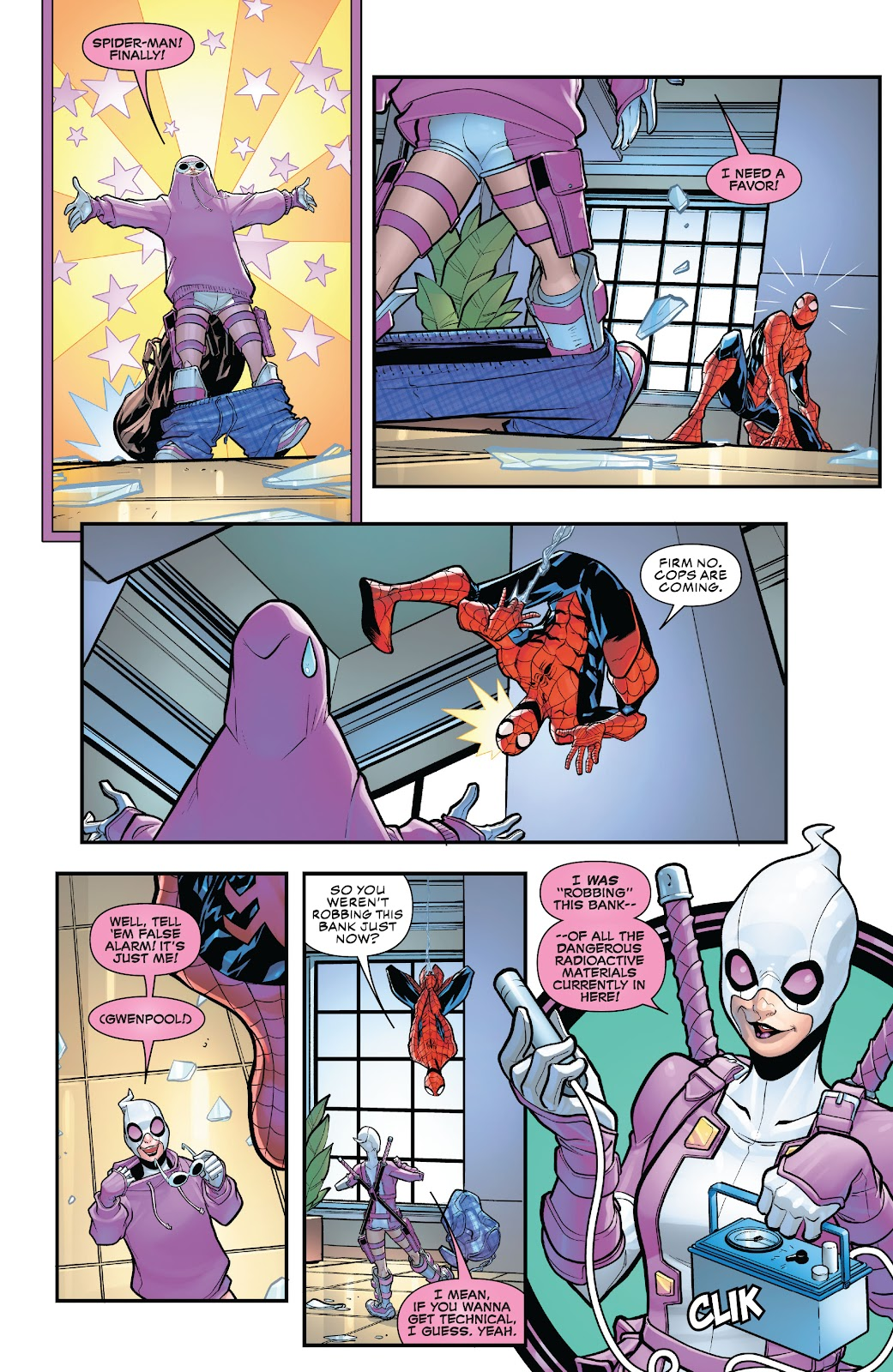 Gwenpool Strikes Back issue _TPB - Page 11