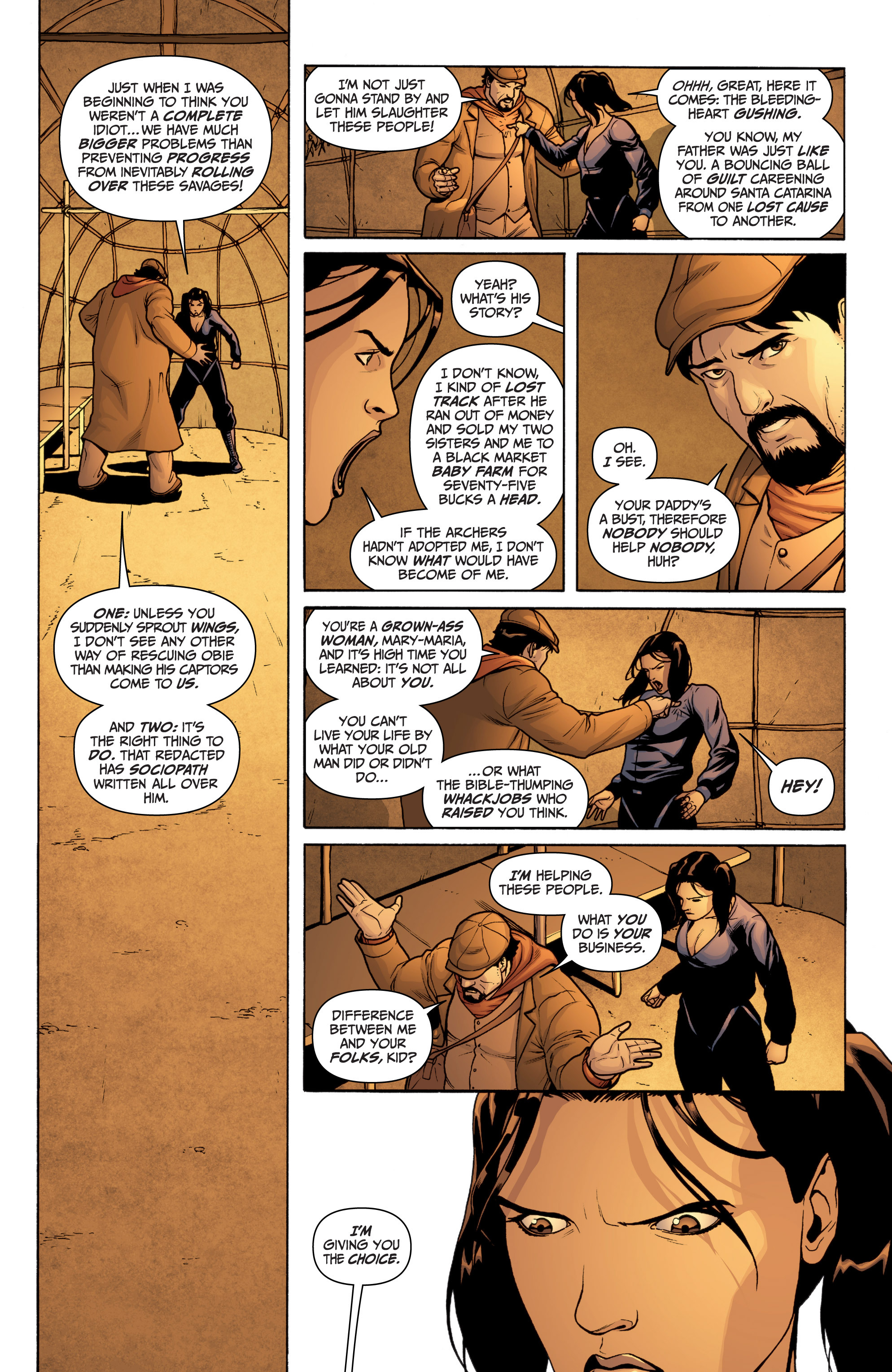 Read online Archer and Armstrong comic -  Issue #12 - 7