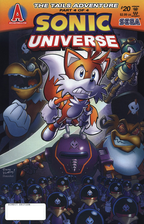 Read online Sonic Universe comic -  Issue #20 - 1
