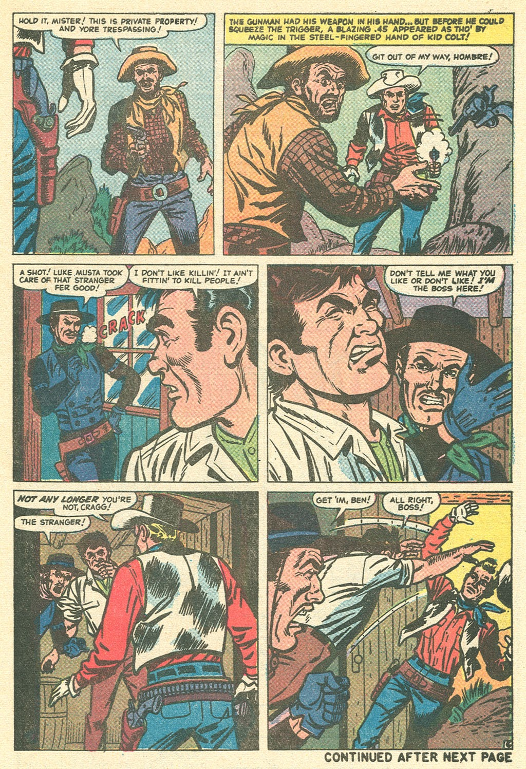 Kid Colt Outlaw issue 151 - Page 9