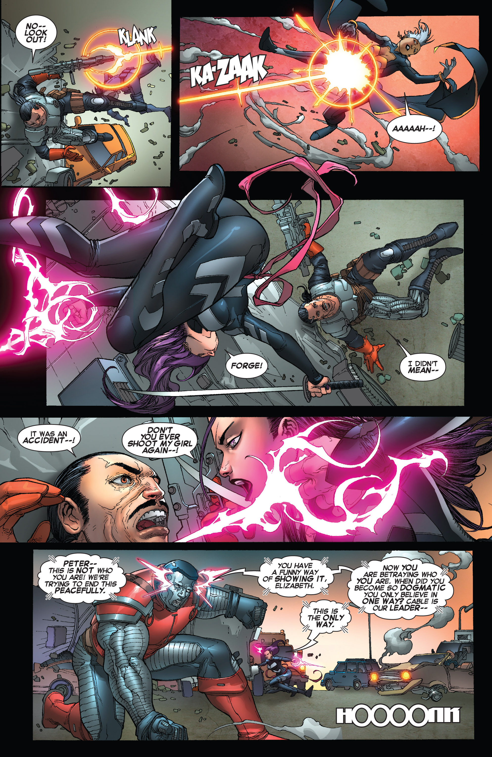Read online Uncanny X-Force (2013) comic -  Issue #16 - 17