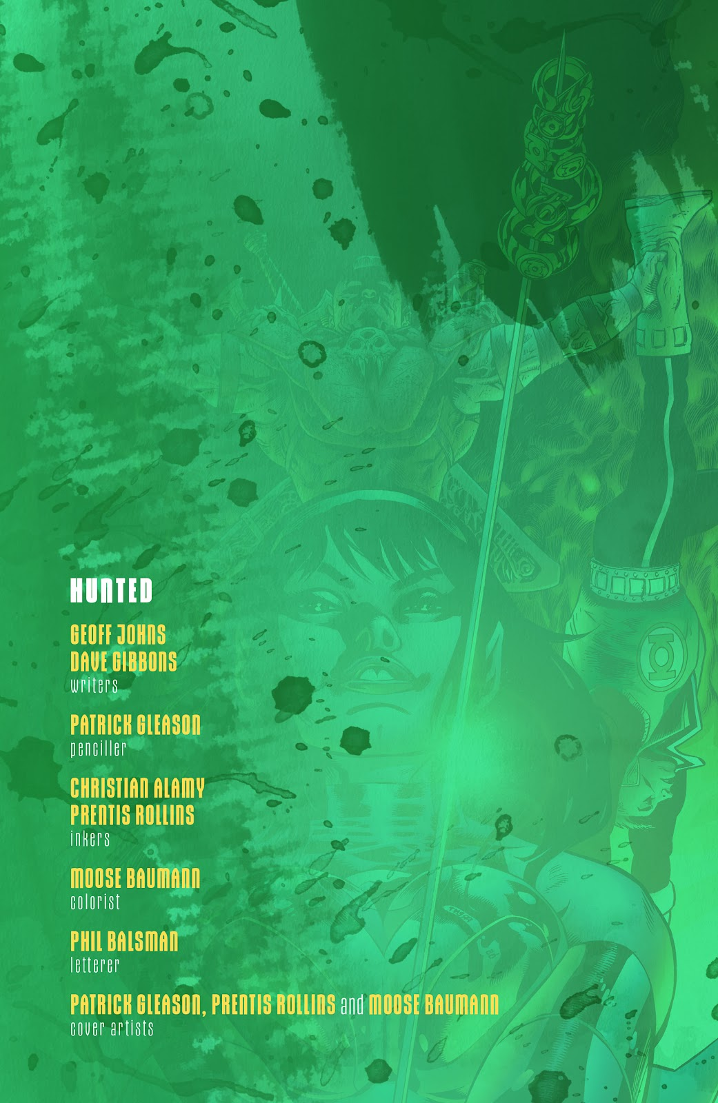 Read online Green Lantern by Geoff Johns comic -  Issue # TPB 1 (Part 3) - 52