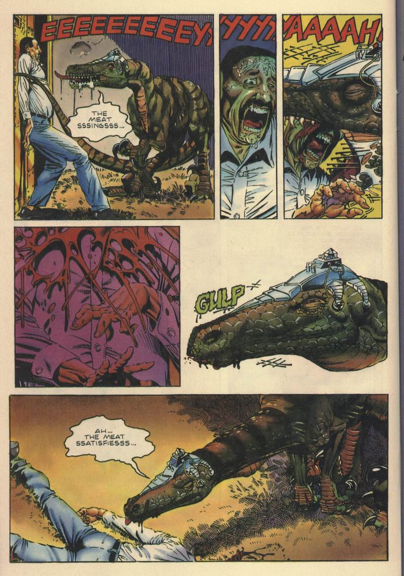 Read online Turok, Dinosaur Hunter (1993) comic -  Issue #10 - 19