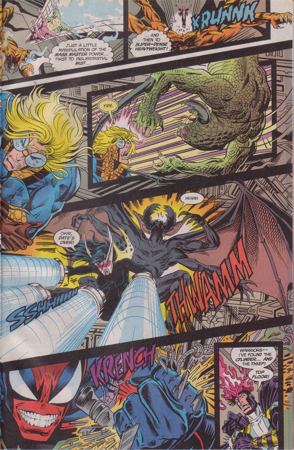 The New Warriors Issue #61 #65 - English 20
