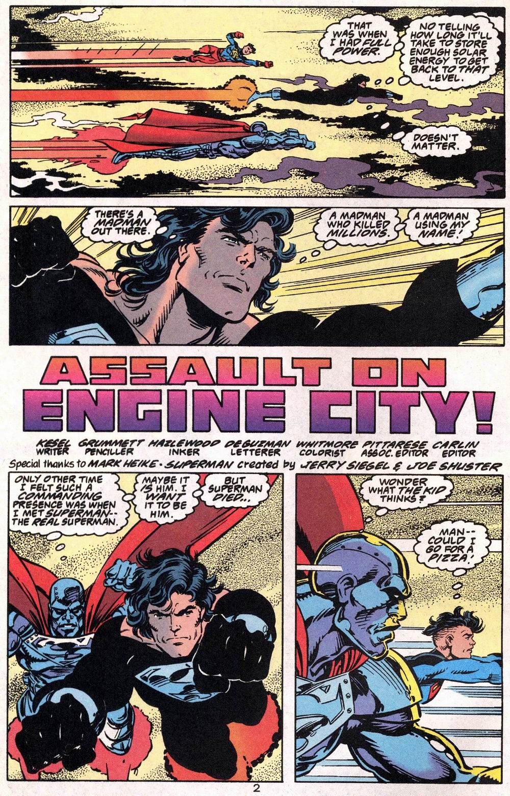 Read online Adventures of Superman (1987) comic -  Issue #504 - 3