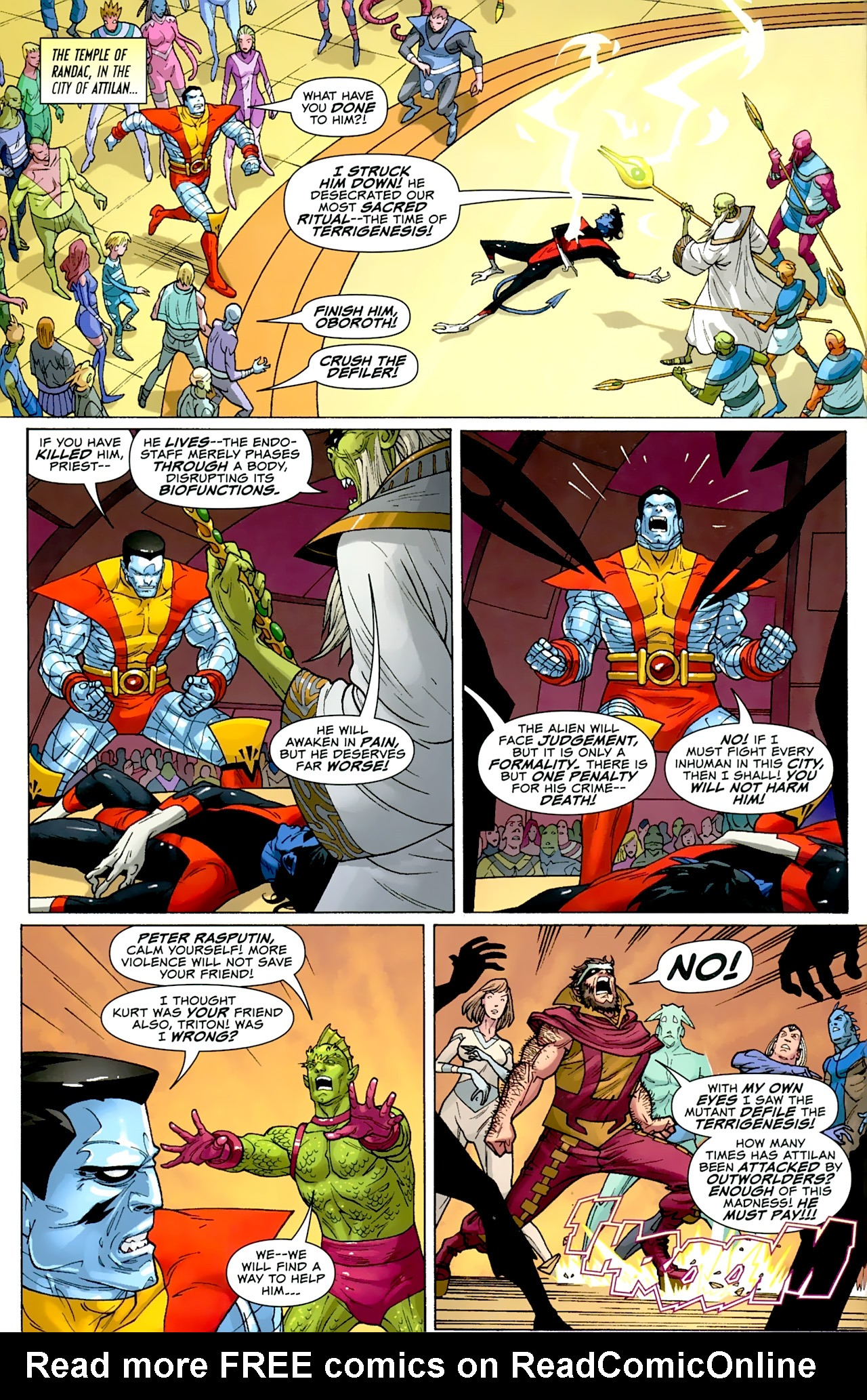 Read online Uncanny X-Men: First Class comic -  Issue #2 - 3