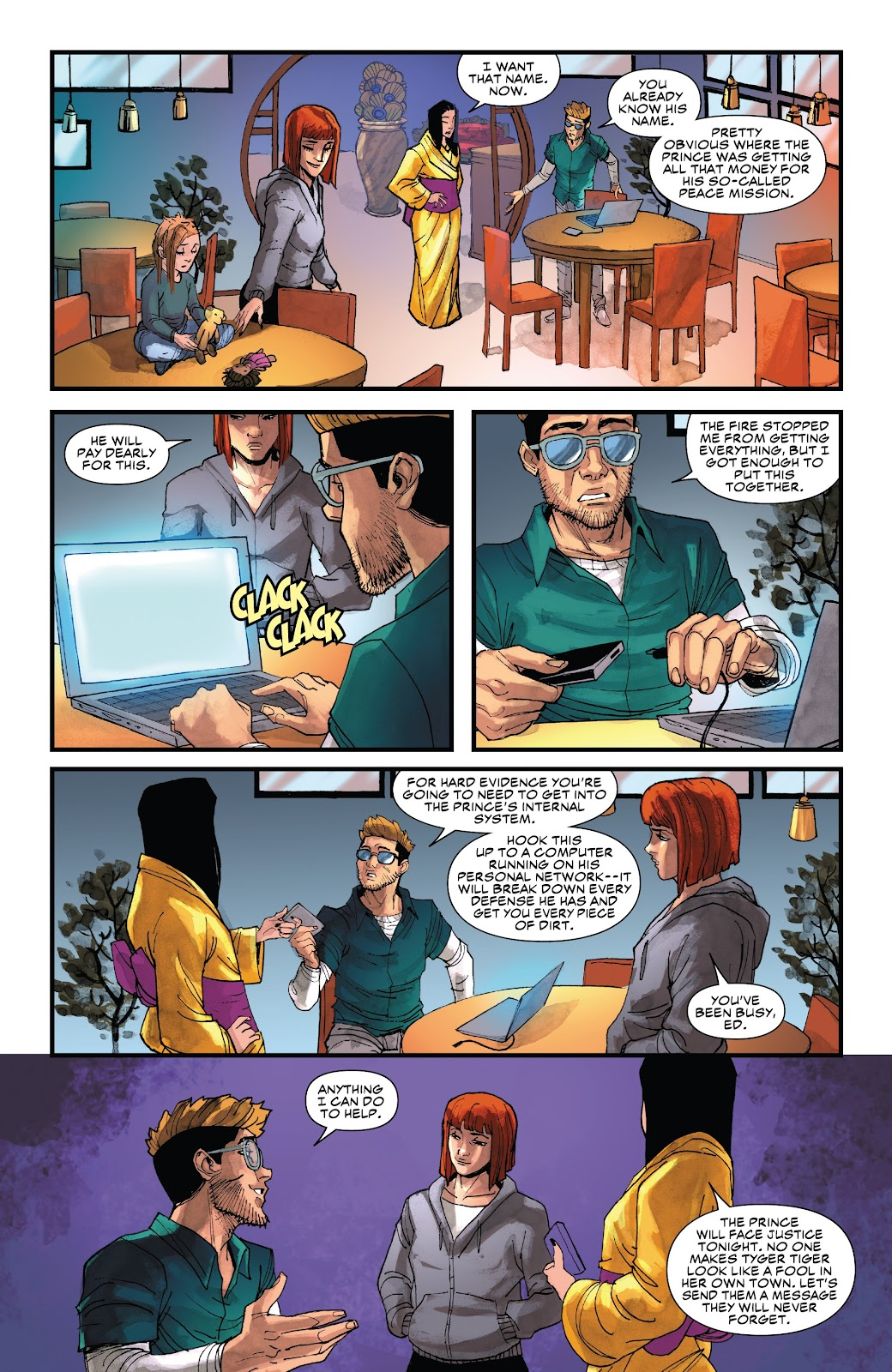 Read online Black Widow (2019) comic -  Issue #4 - 17